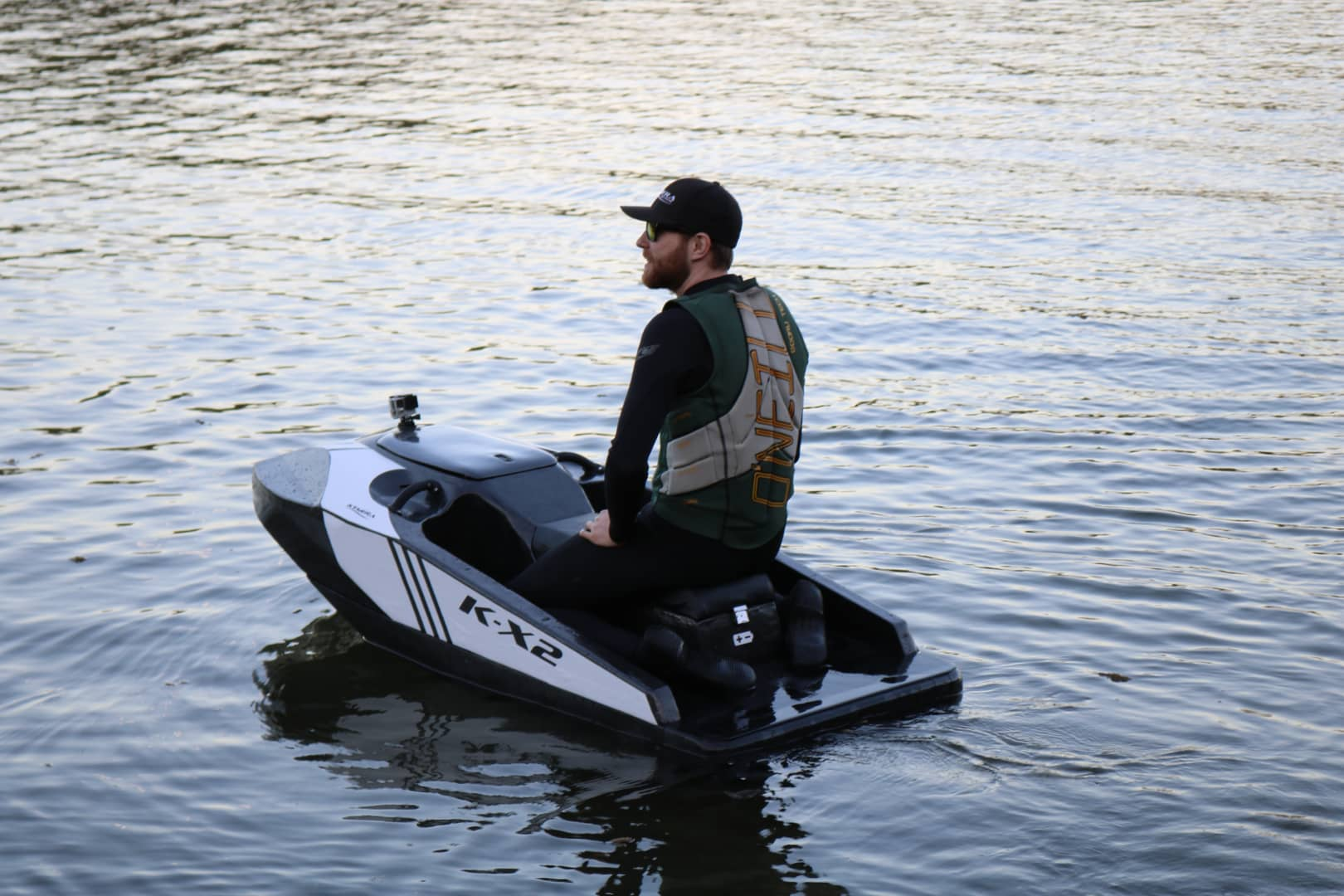 Kymera floats fast, lightweight and powerful electric personal watercraft