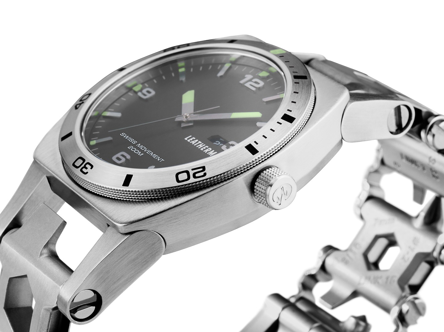 Leatherman adds a watch to wearable multitool range
