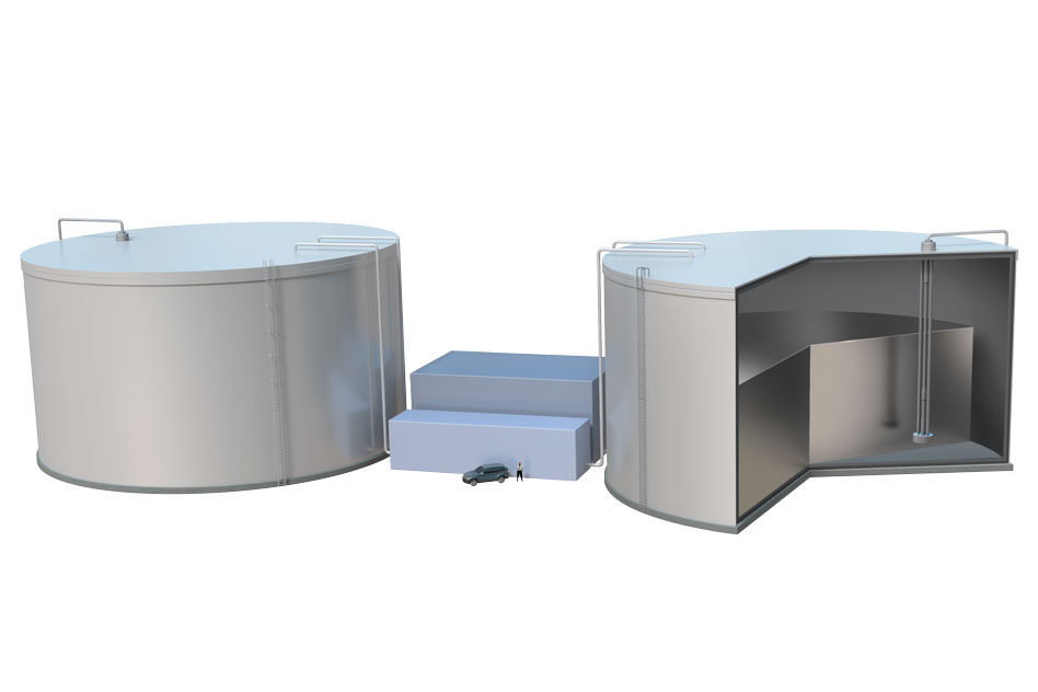 "MIT's conceptual ""sun-in-a-box"" energy storage system plugs into molten silicon"