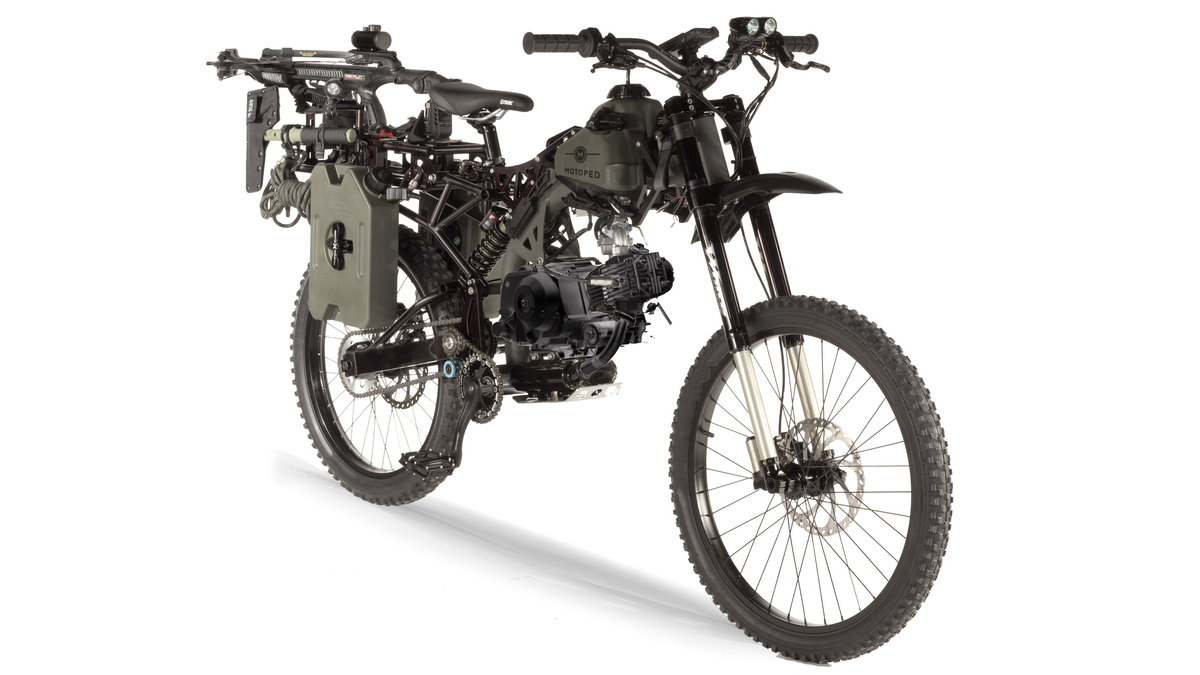 Motoped Survival: Black Ops edition – a fully functional