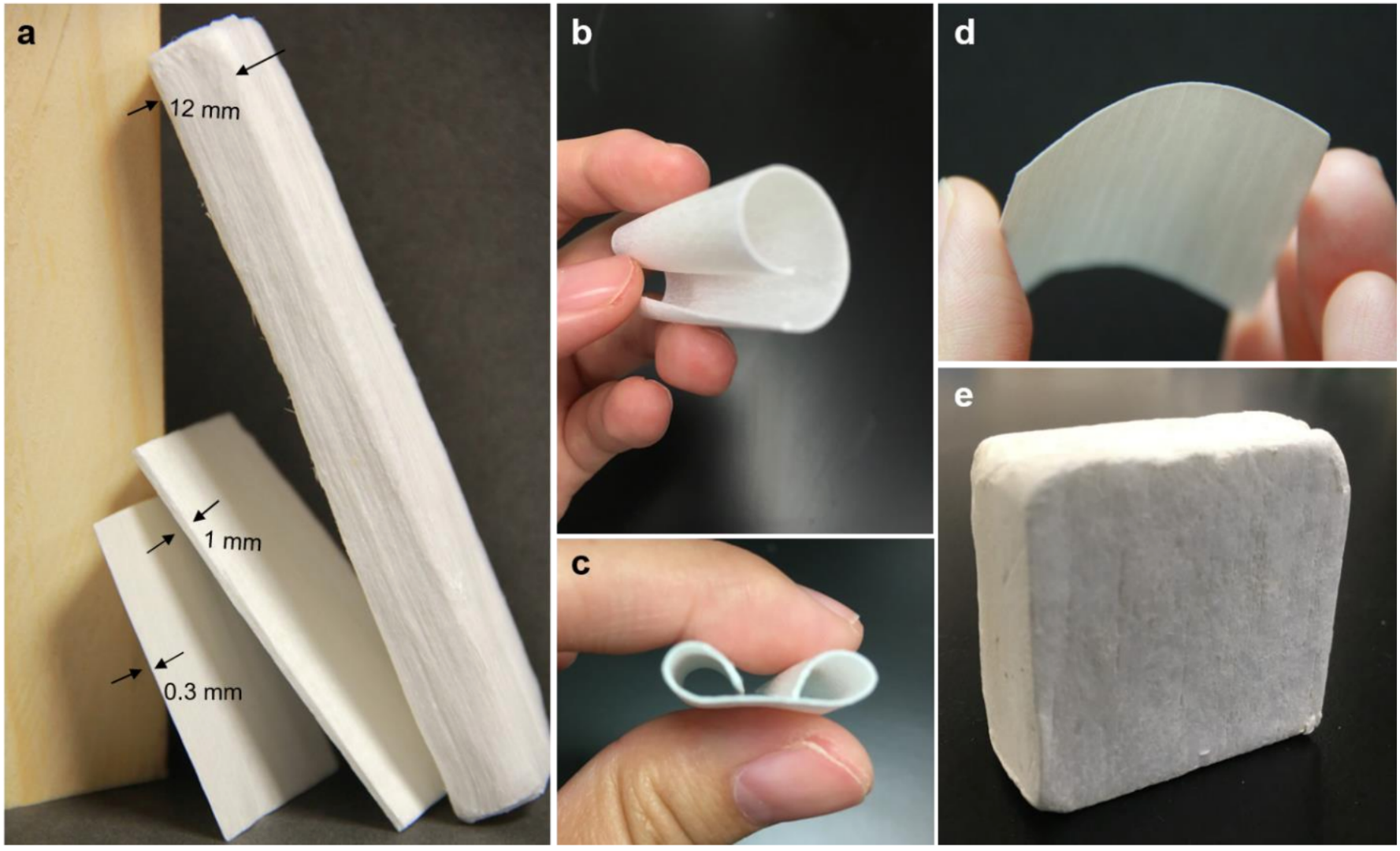 Bleached-white nanowood material promises exceptional