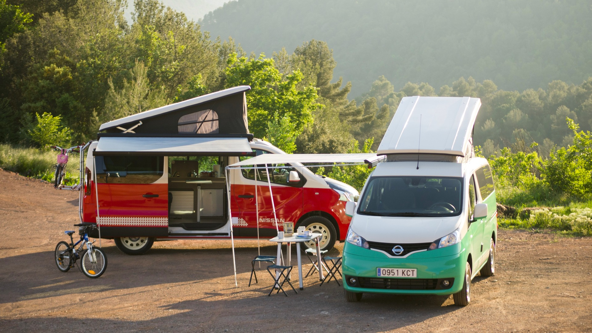 Nissan takes camper vans fully electric with new e-NV200 pop-top