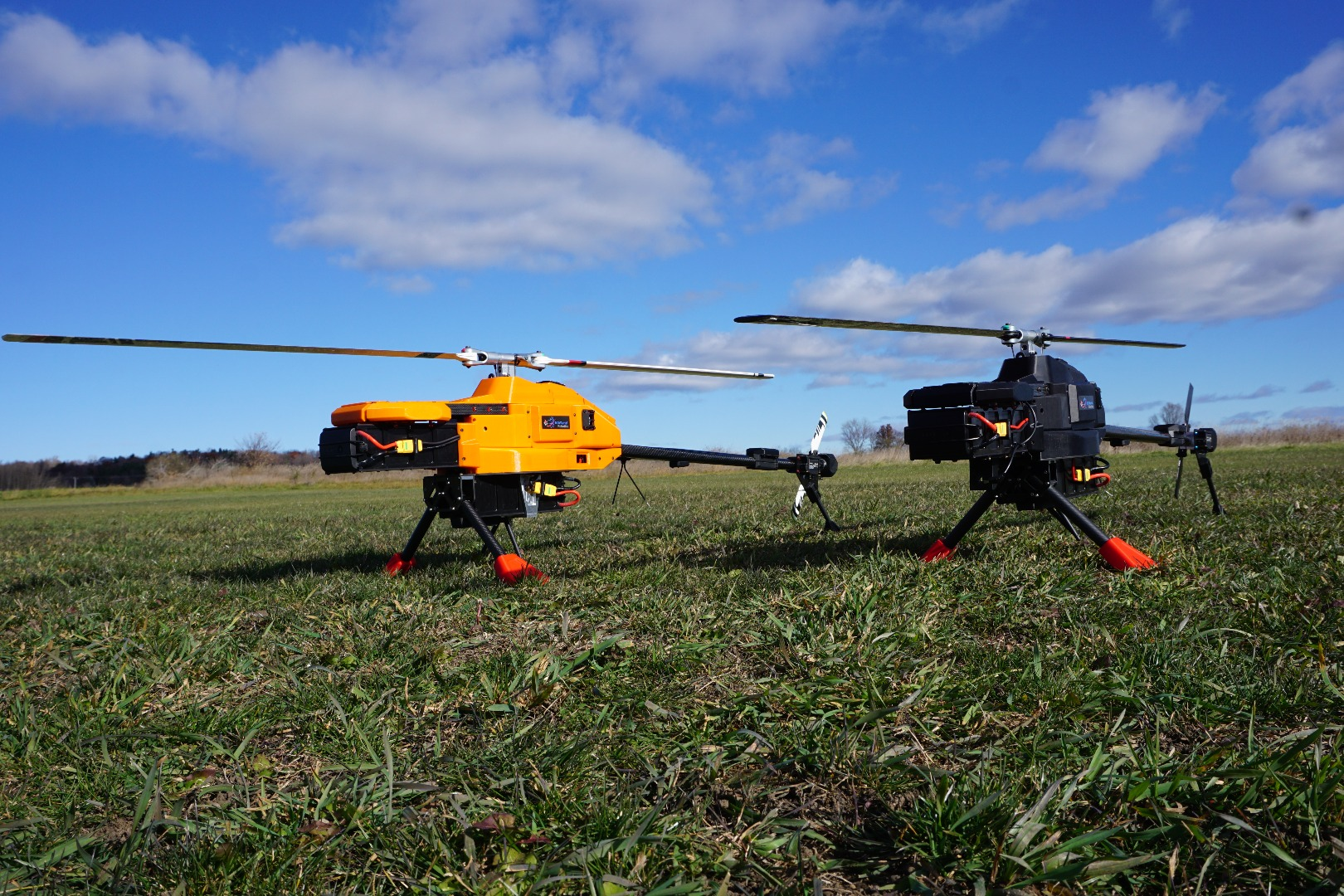 NOVAerial's helicopter drones: Better than multicopters?