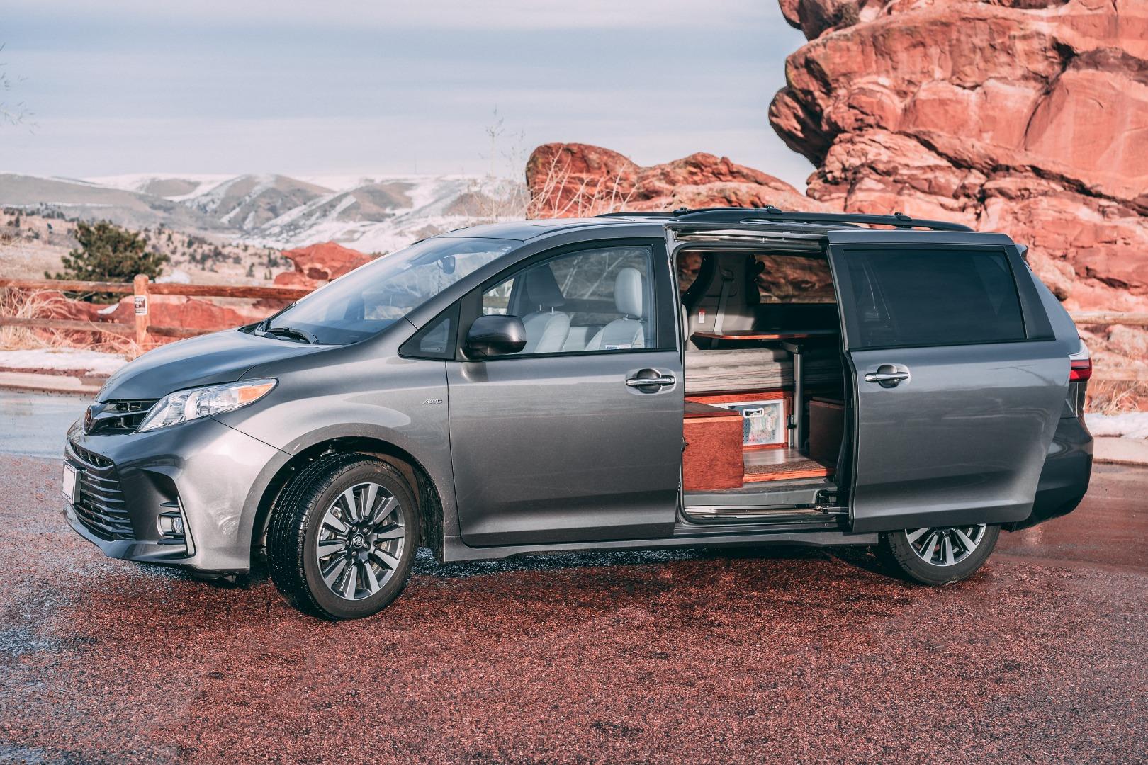 Colorado shop cures wanderlust by turning minivans into cozy mini-campervans