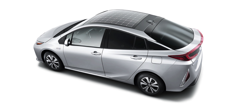 Panasonic develops solar car roof for Prius