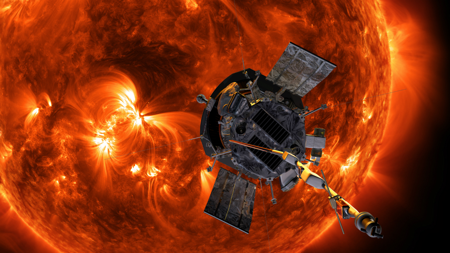 Parker Solar Probe now closer to the Sun than any spacecraft in history