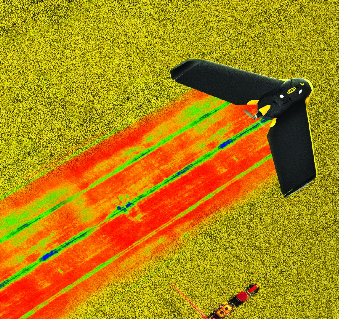 Parrot's multispectral crop monitoring sensor can be