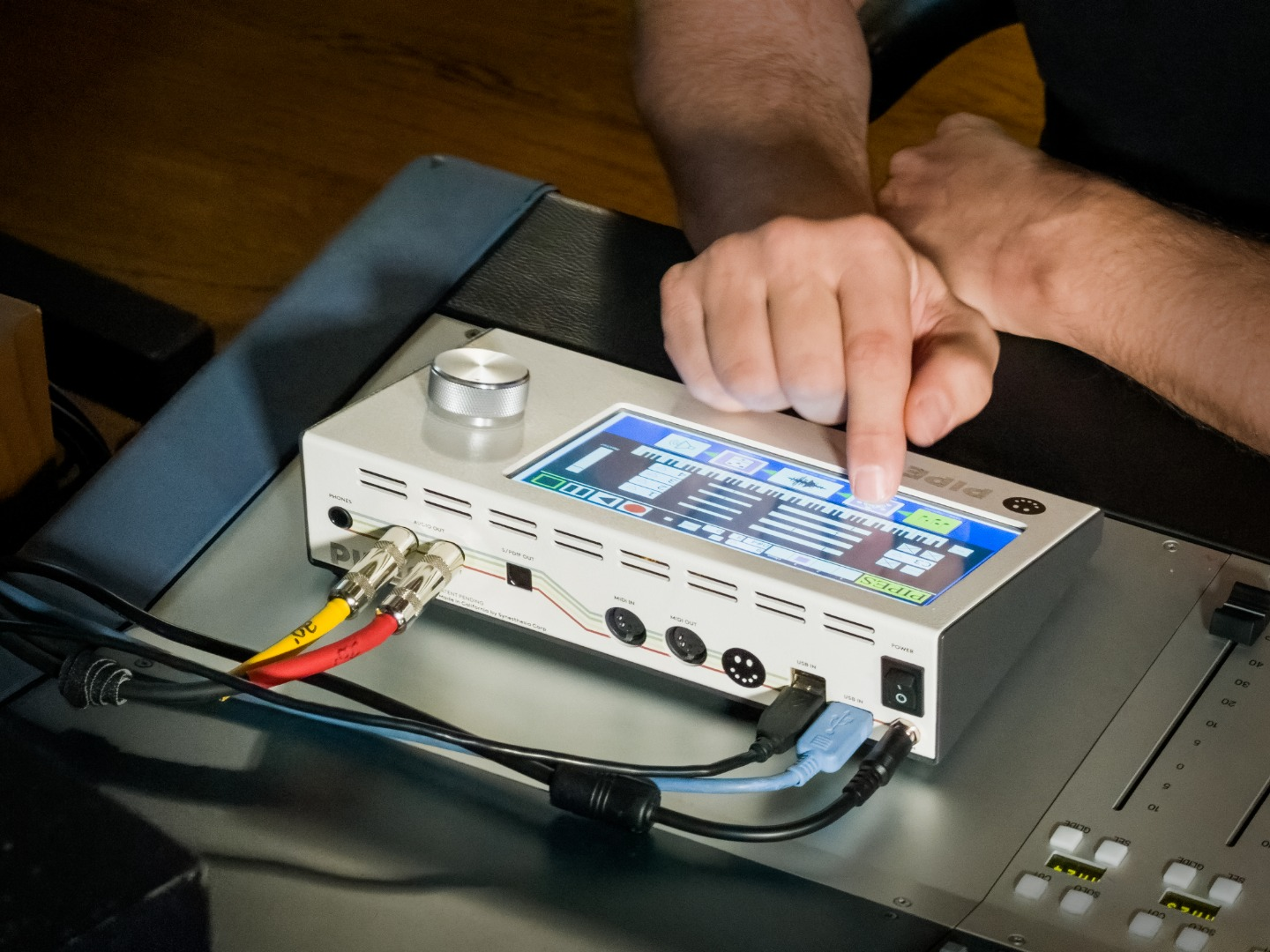Pipes brings music production hardware and software together