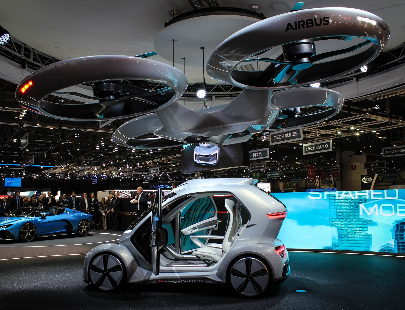 Airbus and Audi's Pop Up Next concept is part passenger
