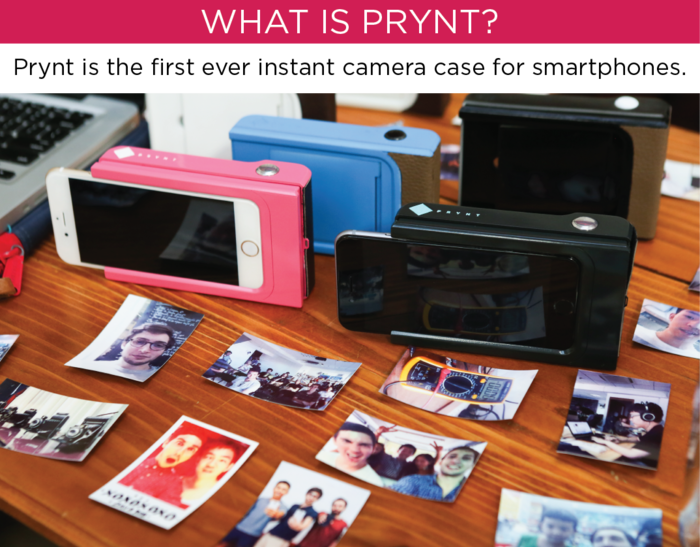 Prynt case turns your phone into a Polaroid-like instant camera