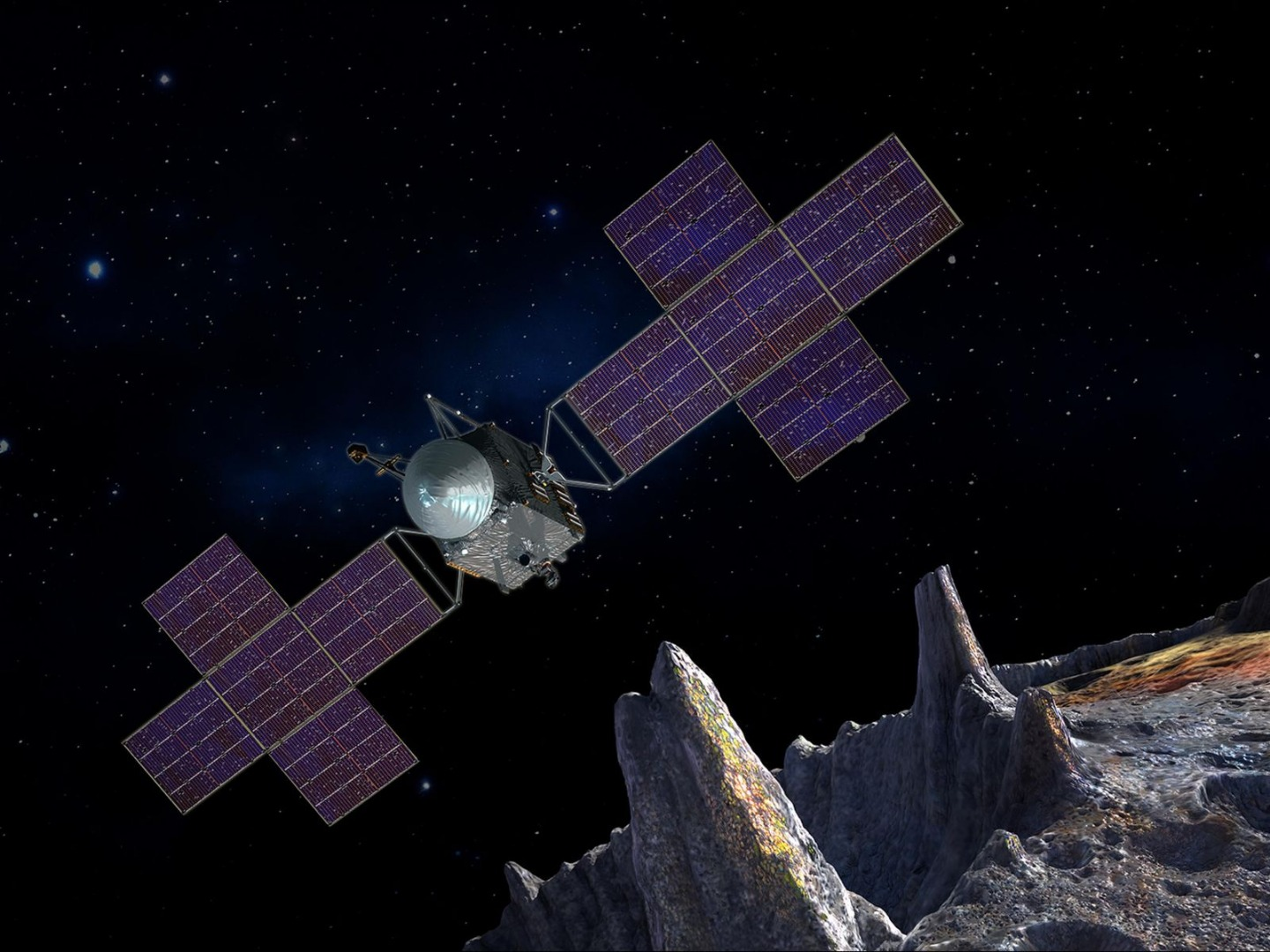 NASA gives go-ahead for mission to explore ancient planet core in asteroid belt