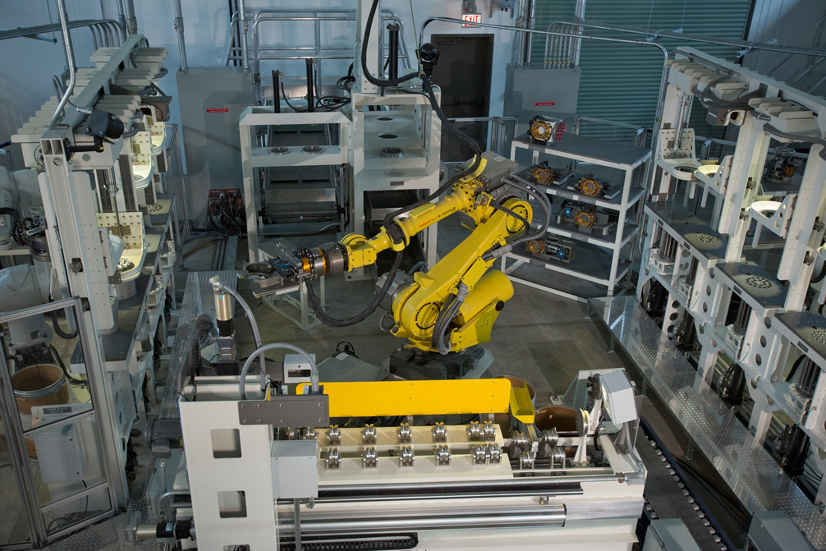 Robots decommission 700,000 munitions for recycling