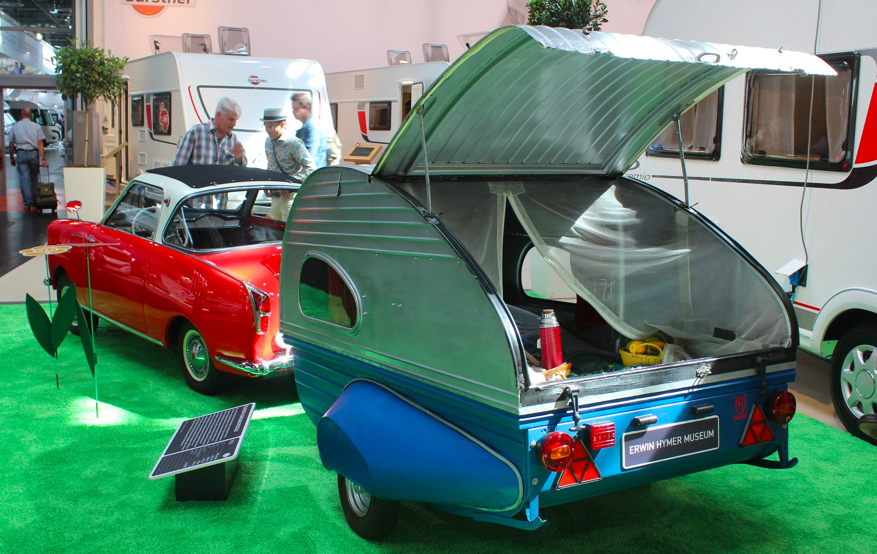 In photos: Awesome teardrops and small trailers from the 2018 Caravan Salon