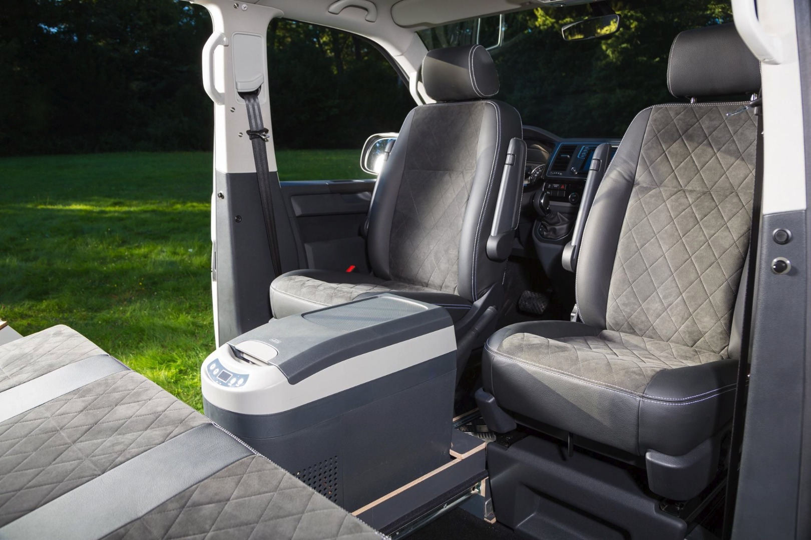 Water Resistant S- tech automotive Transit Camper 06-12 Heavy Duty Durable Single Seat Cover Grey