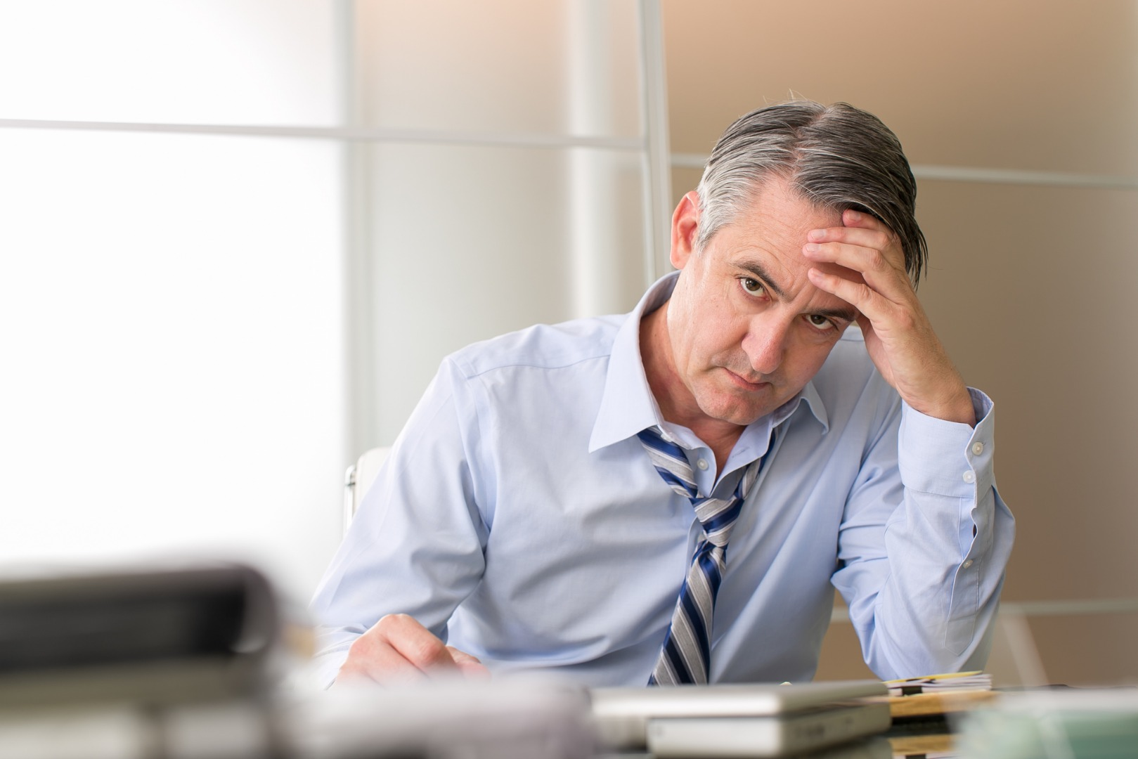 Stress in middle age found to shrink your brain and impair memory