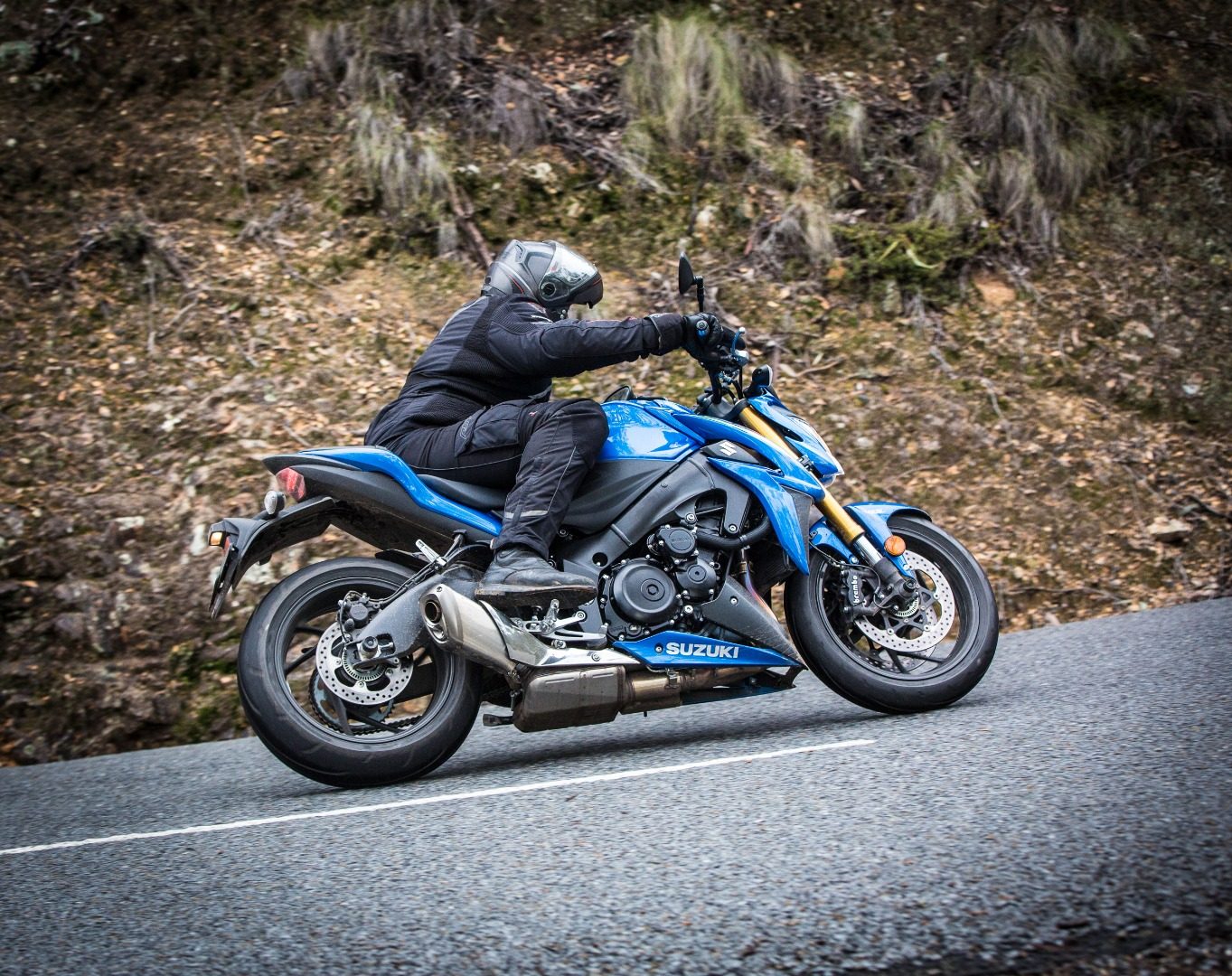 Suzuki's brilliant GSX-S1000 is the supersport of the naked