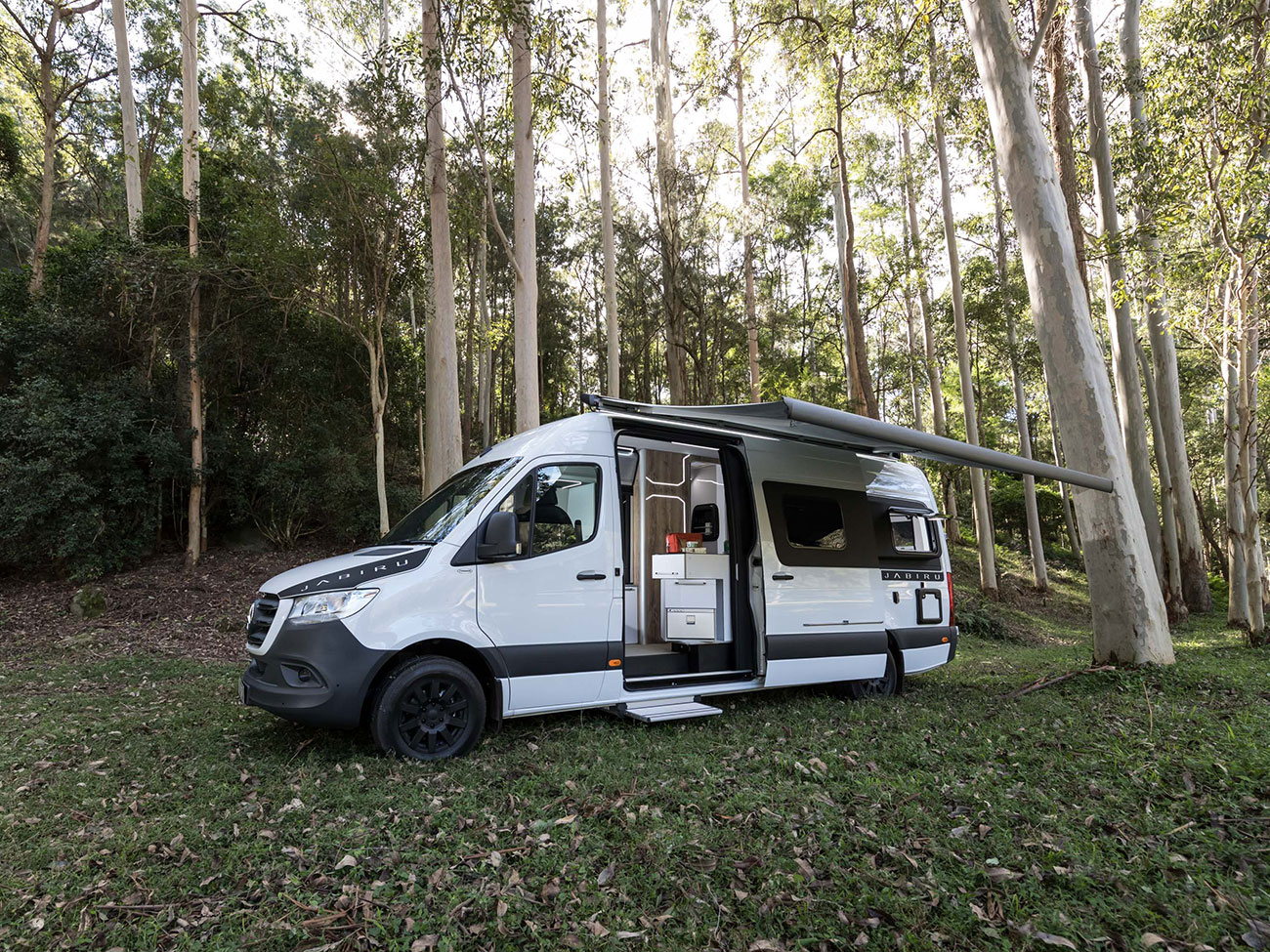 Trakka's latest camper van heads for the Outback with off-grid power and slick versatility