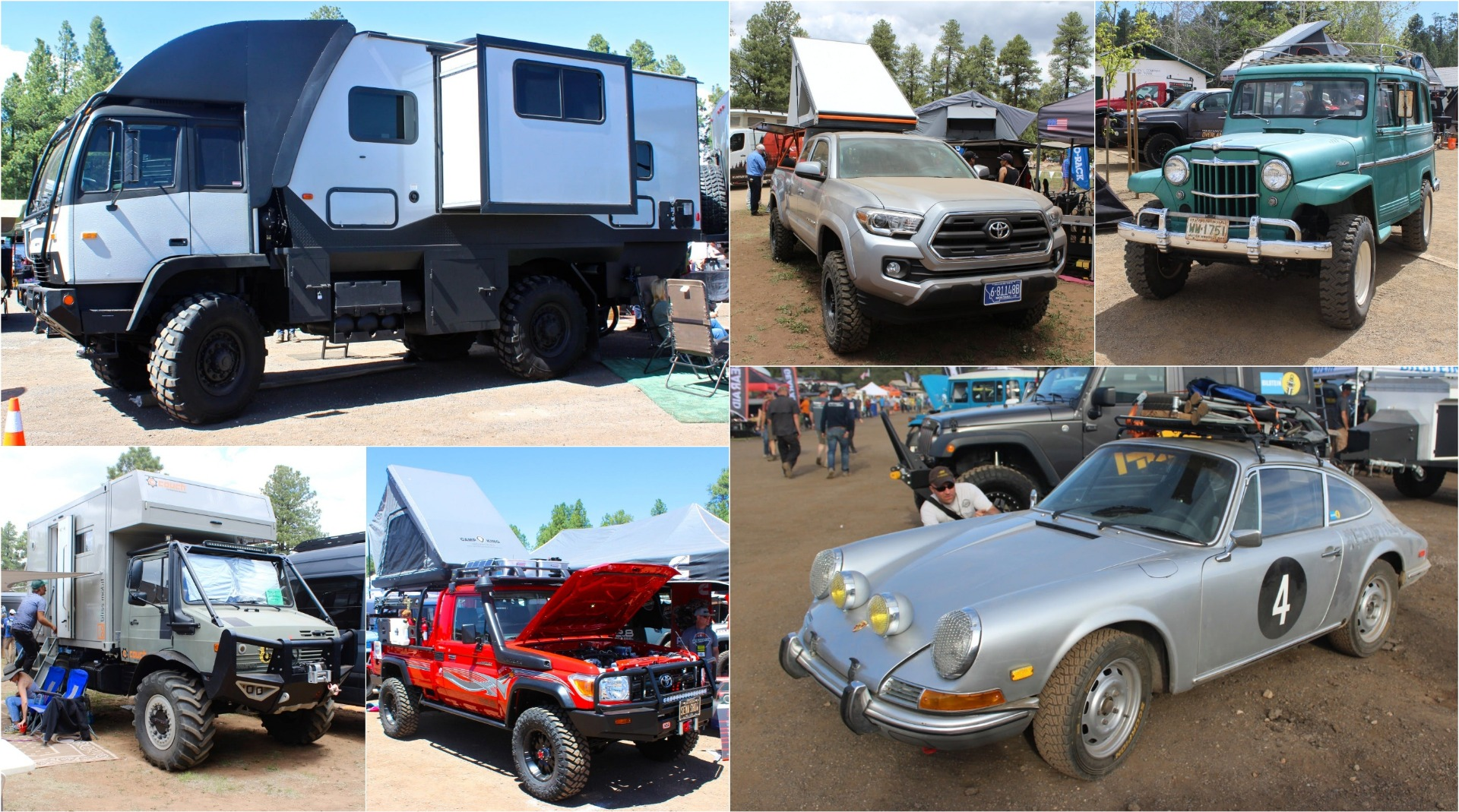 In photos: Pickup campers, big rig motorhomes and adventure