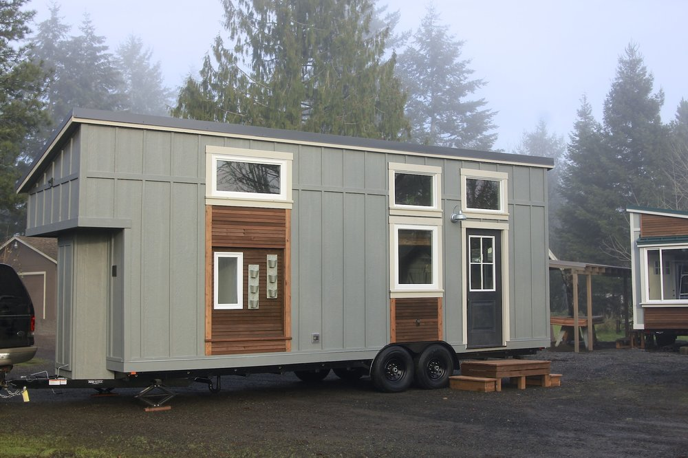 Urban Craftsman tiny house offers luxurious living in a little package