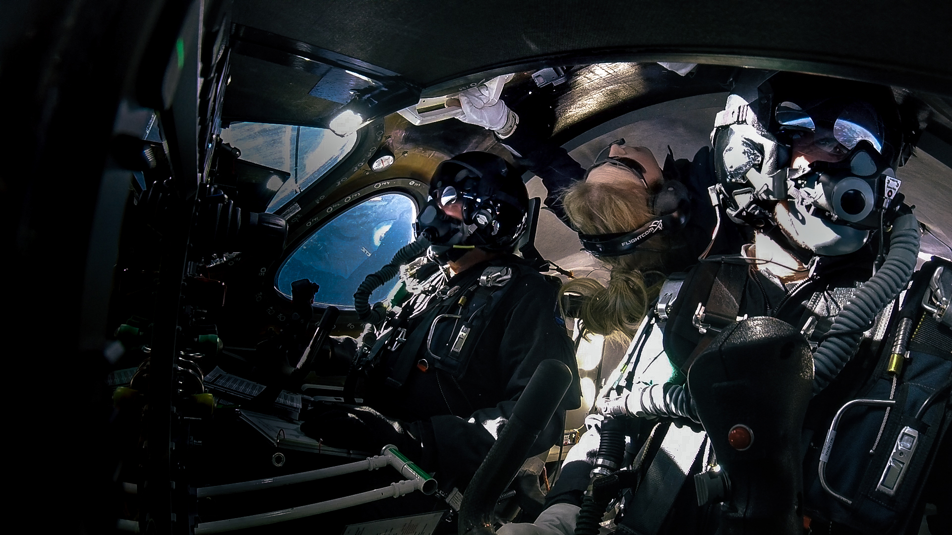 Virgin Galactic makes record breaking second space flight with 3 crew aboard