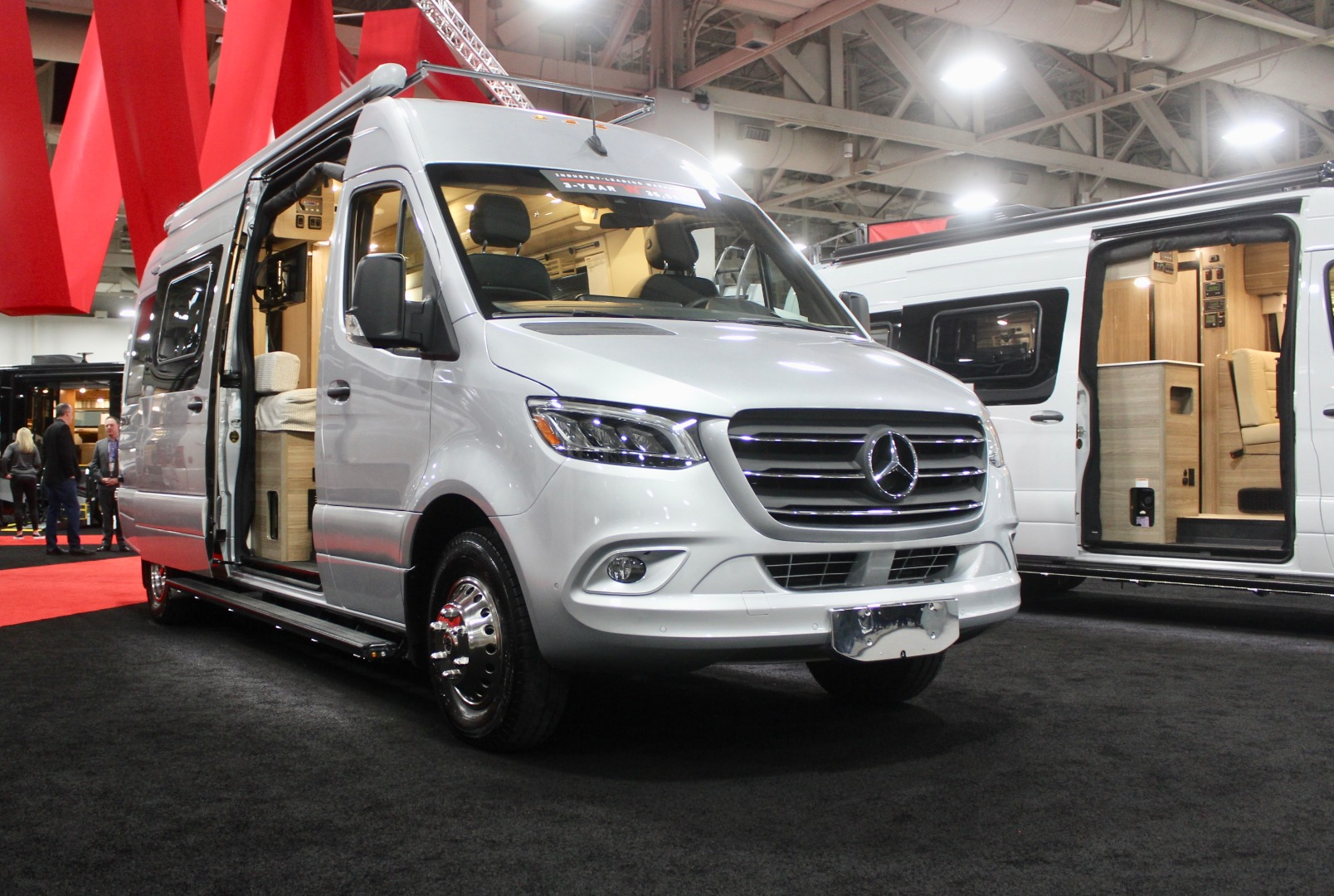 Winnebago turns new Mercedes Sprinter into adventurous, lithium-powered all-season camper van