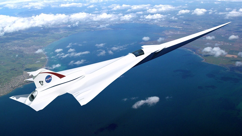 30-mile-long microphone to test supersonic X-plane