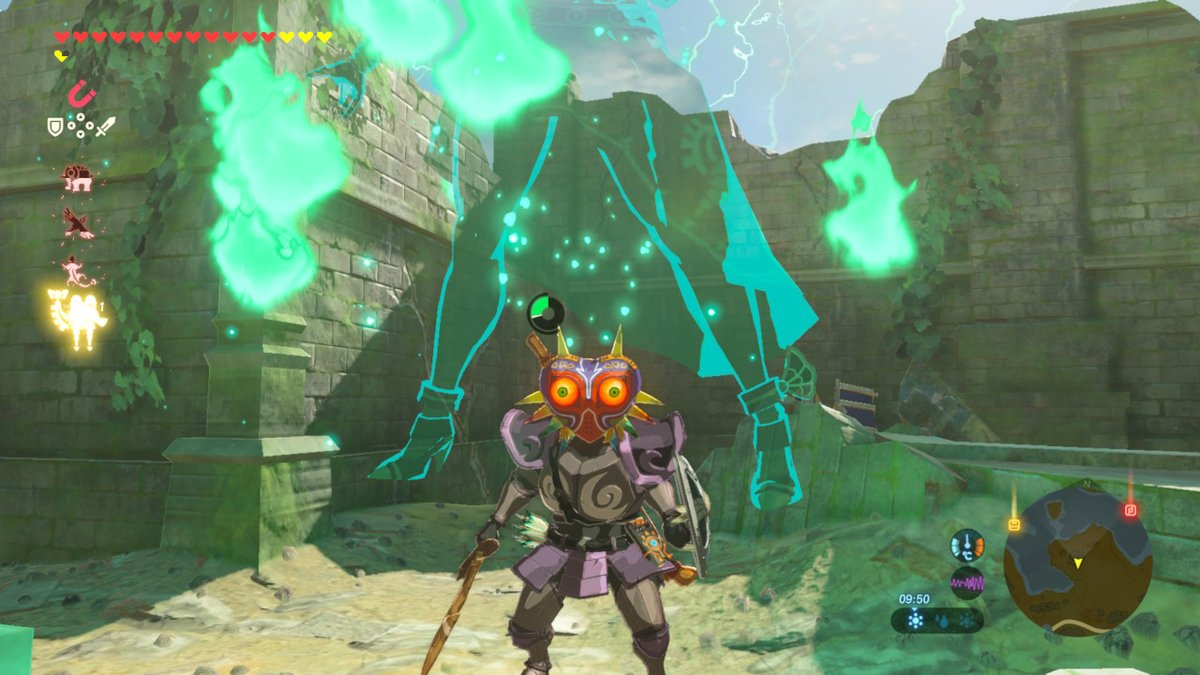 How to get Midna's Helmet and Majora's Mask in Zelda: BOTW's