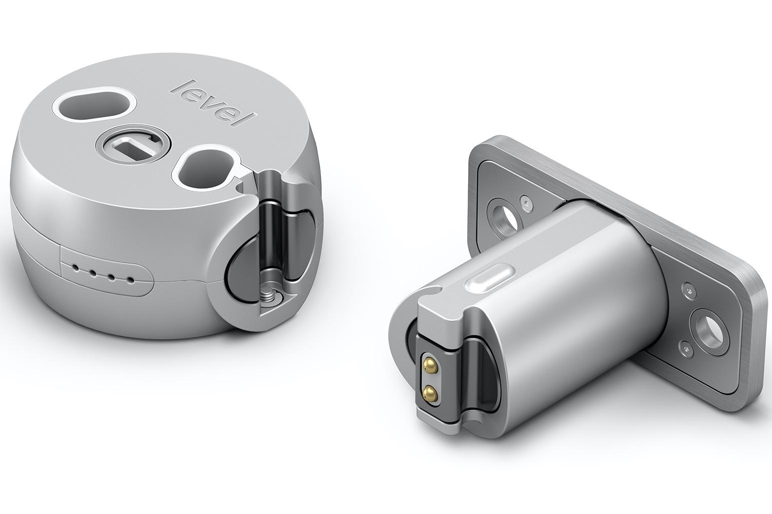 Stealthy retrofit smart lock hides inside the door