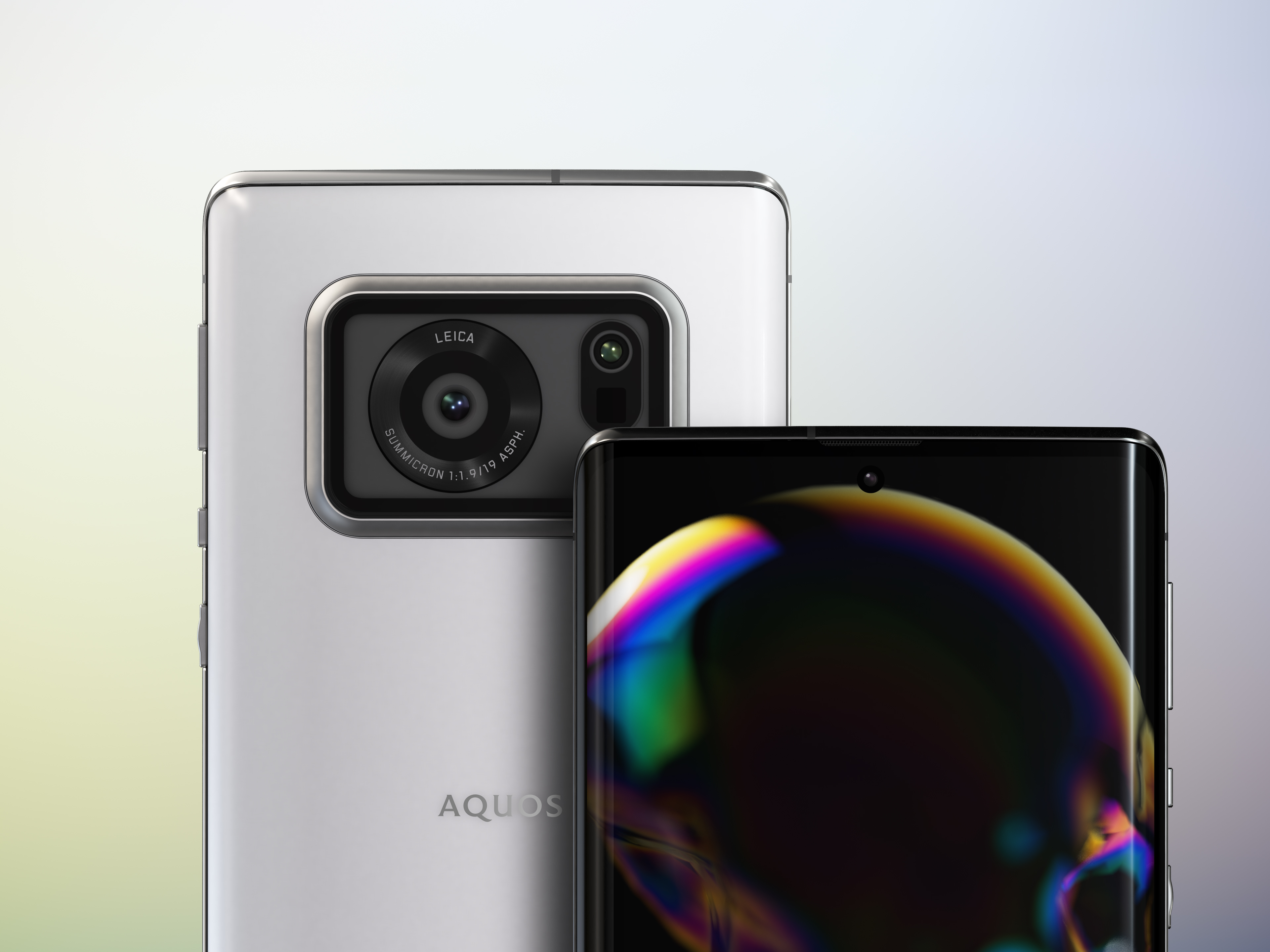 The Aquos R6 boasts a 1-inch CMOS sensor co-engineered by Sharp and Leica
