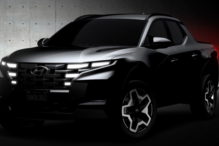 The production prototype sketches of the Hyundai Santa Cruz depict a more grown-up version of the concept that debuted in 2015