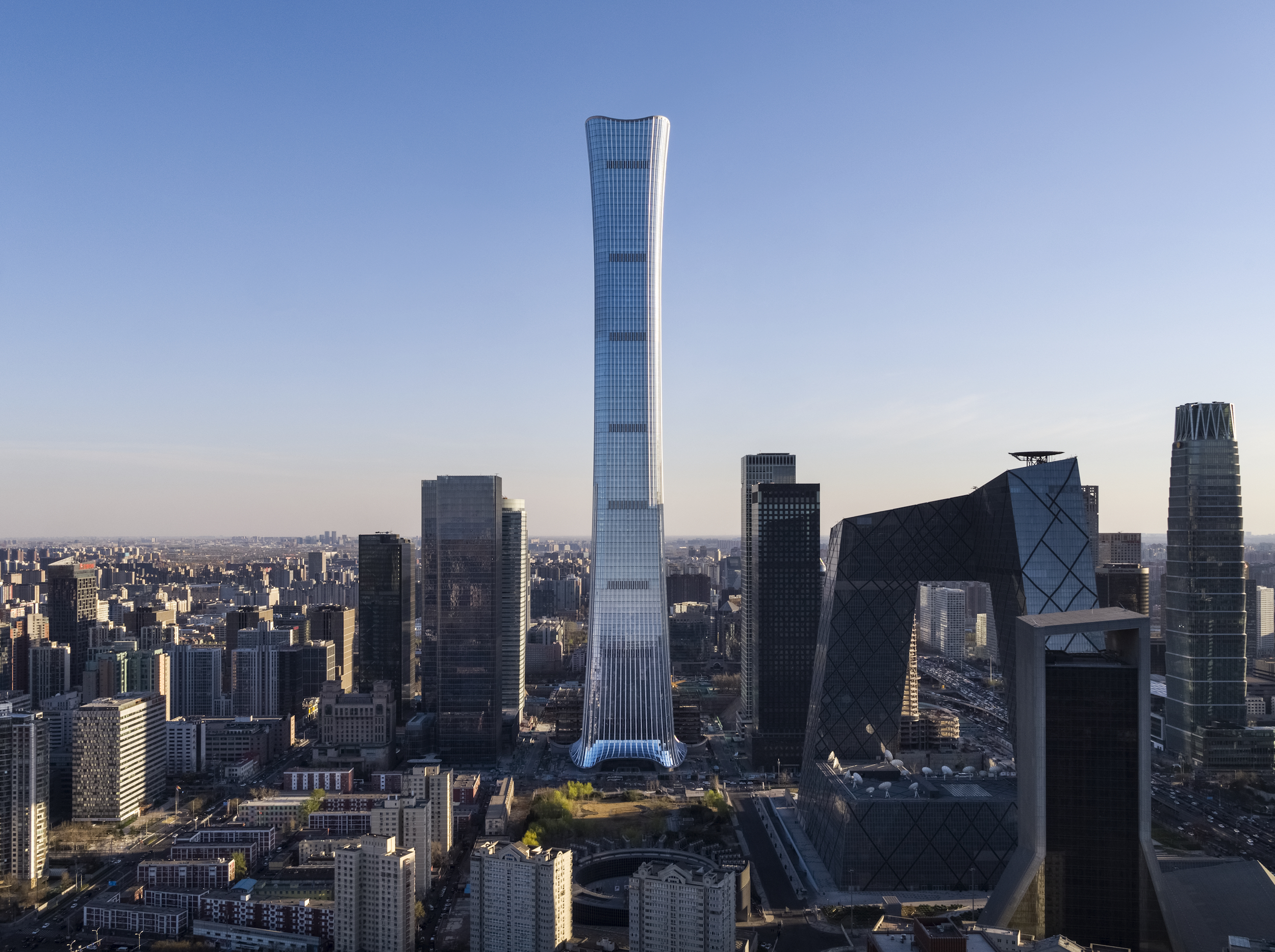 One of world's tallest skyscrapers opens in Beijing