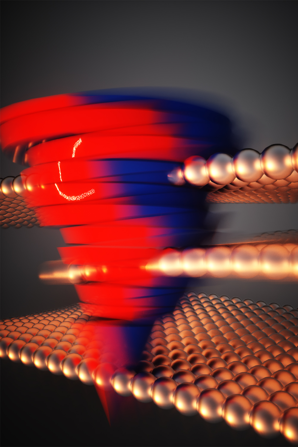 Researchers have encoded data into stacks of two-dimensional materials