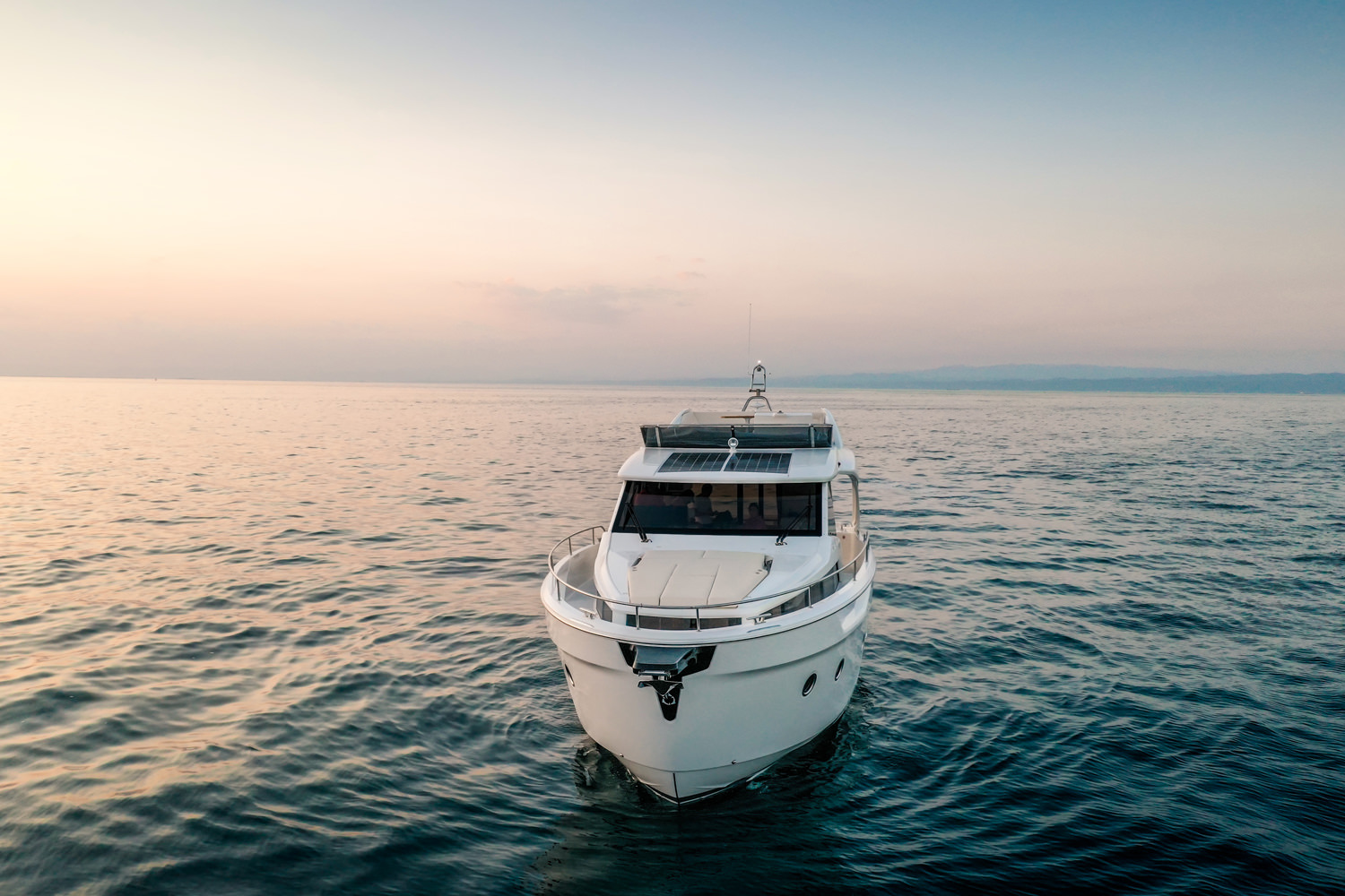 Greenline adds a 45-footer to lineup of luxury yachts