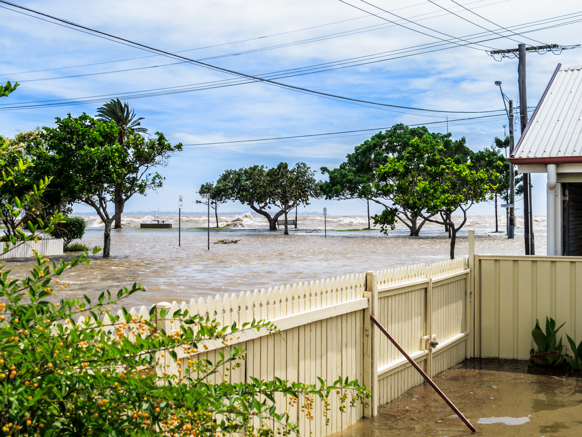 Scientists state that climate change-caused coastal flooding may have a marked effect on the global gross domestic product (GDP)
