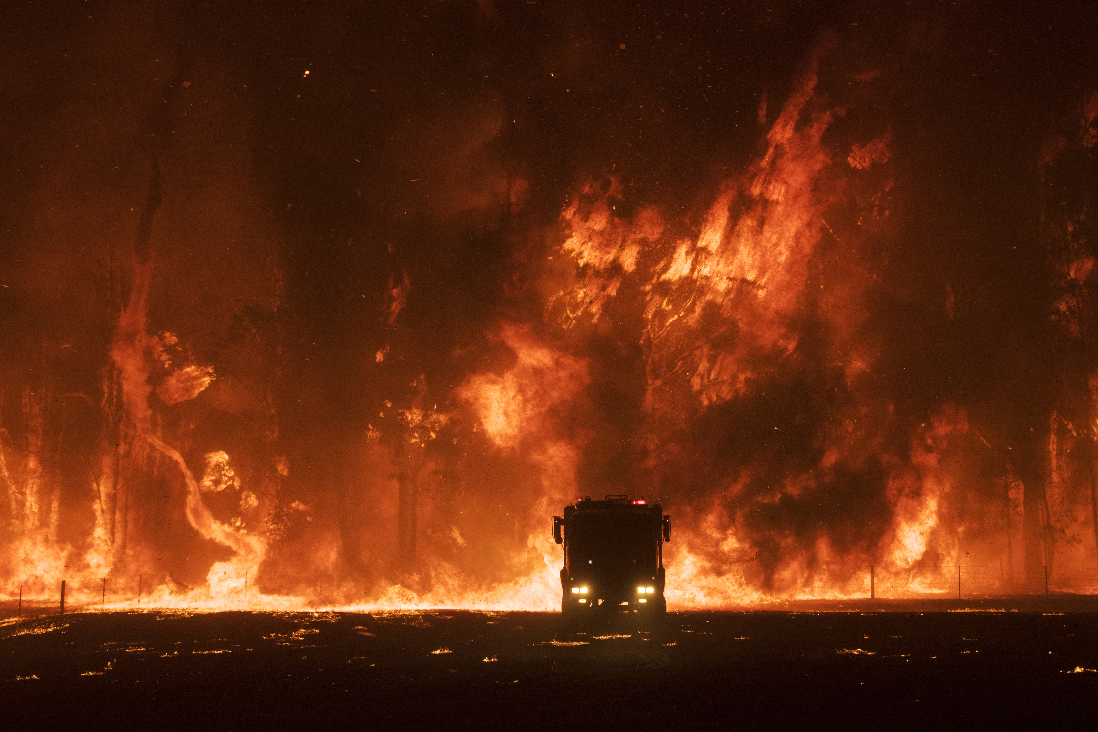 Shortlisted in the Documentary category. From a series titled The Burning, looking at Australia's recent bushfire crisis