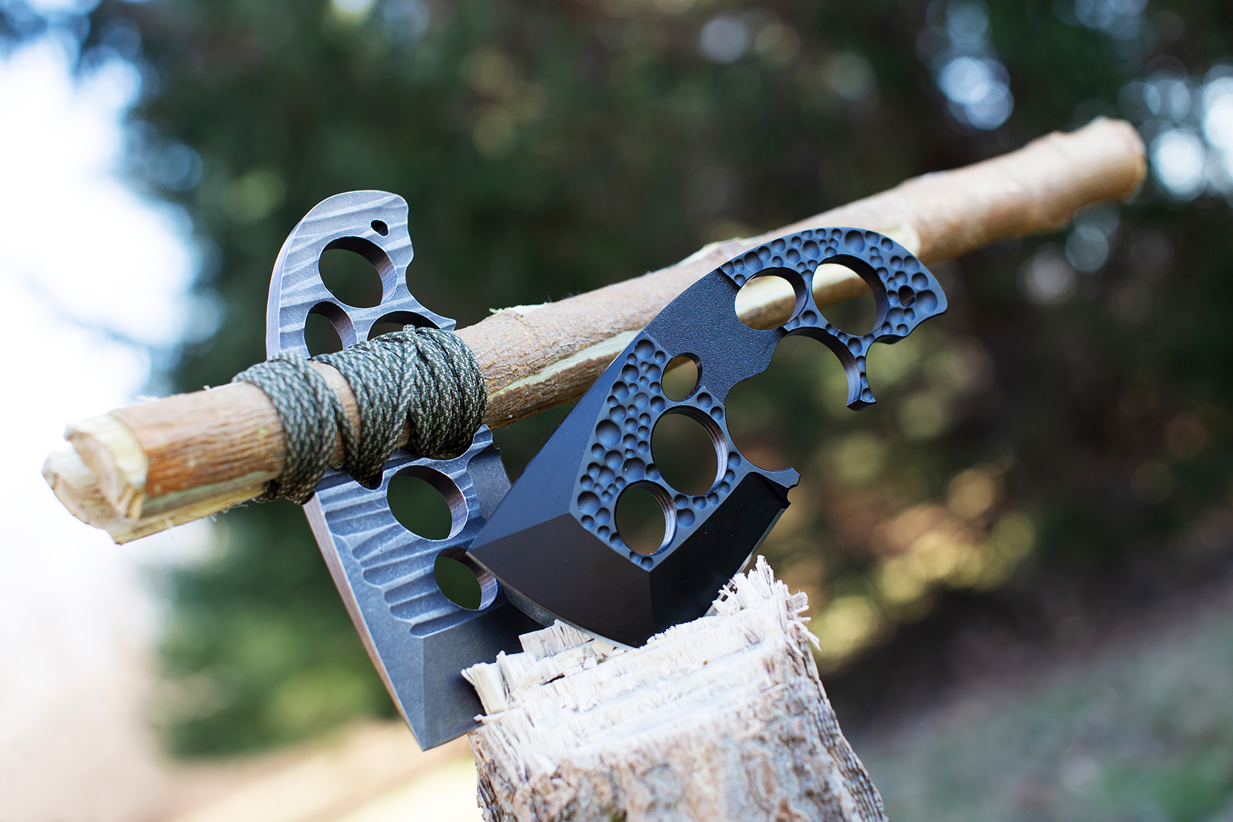 Like so much outdoor gear, the Axxis tool was designed as a way of allowing adventurers to keep down the weight of their packs as they head into the wilderness