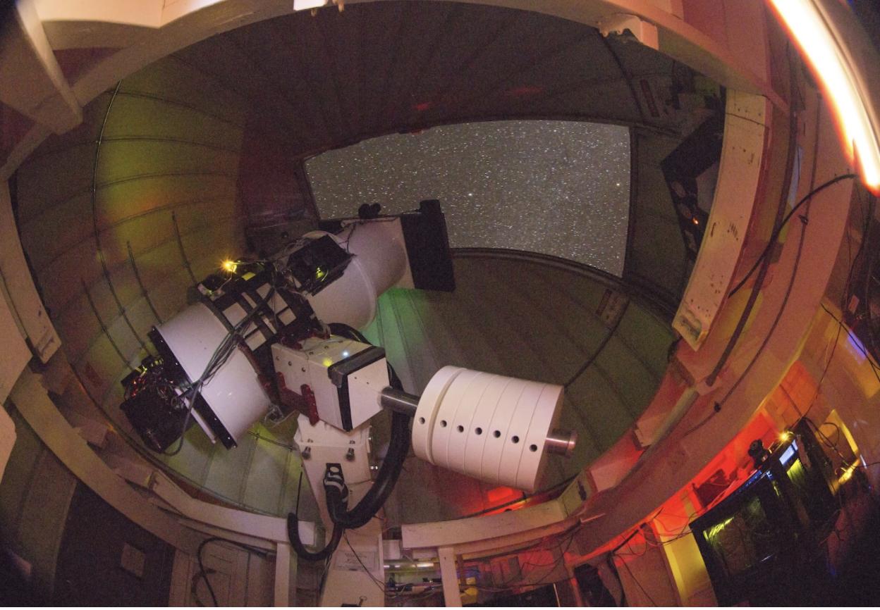 ATLAS telescope unit on Haleakal?, Maui