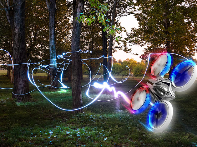 This LED drone will light up the night sky