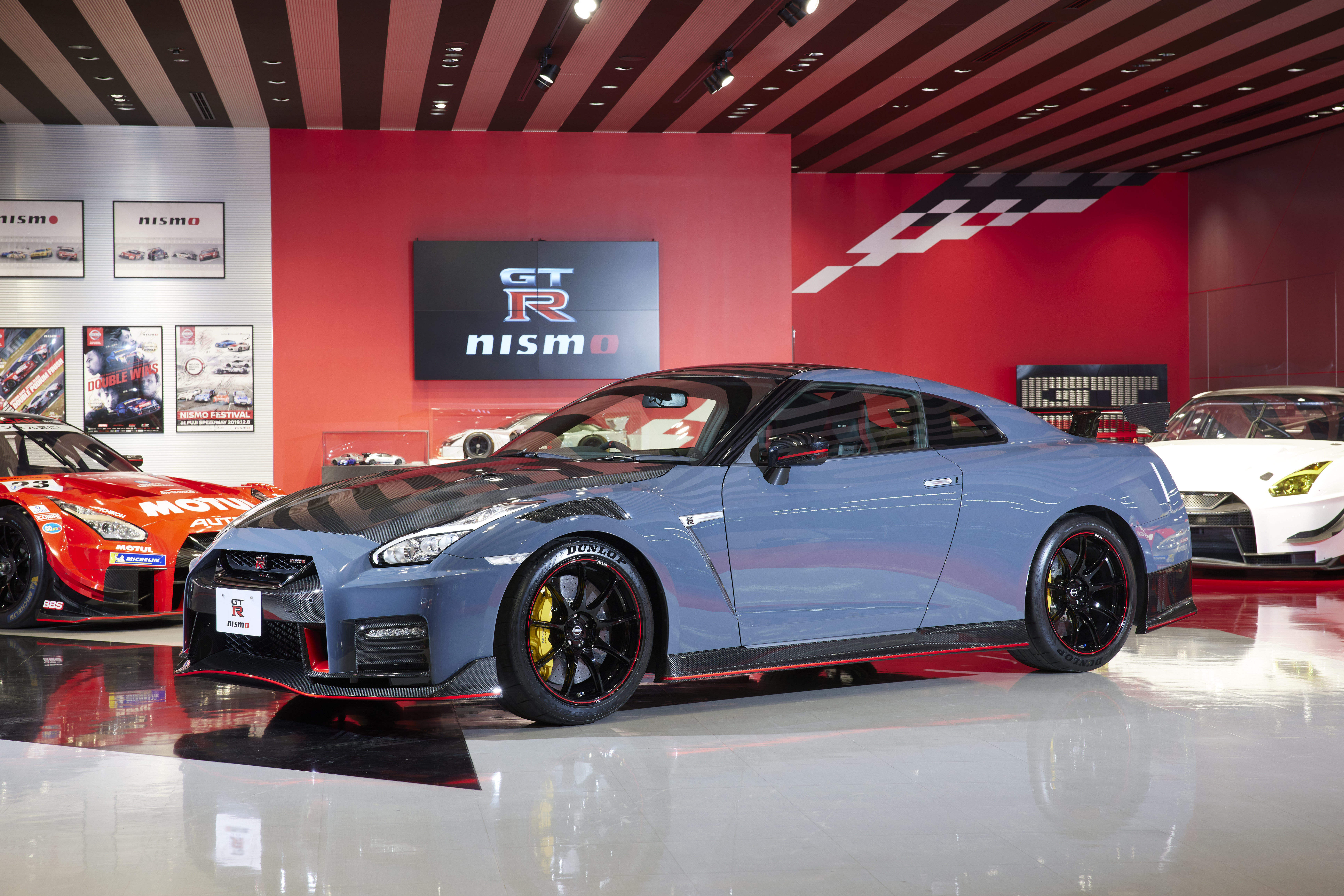 The built-to-order GT-R NISMO special edition utilizes new high-precision, weight-balanced parts