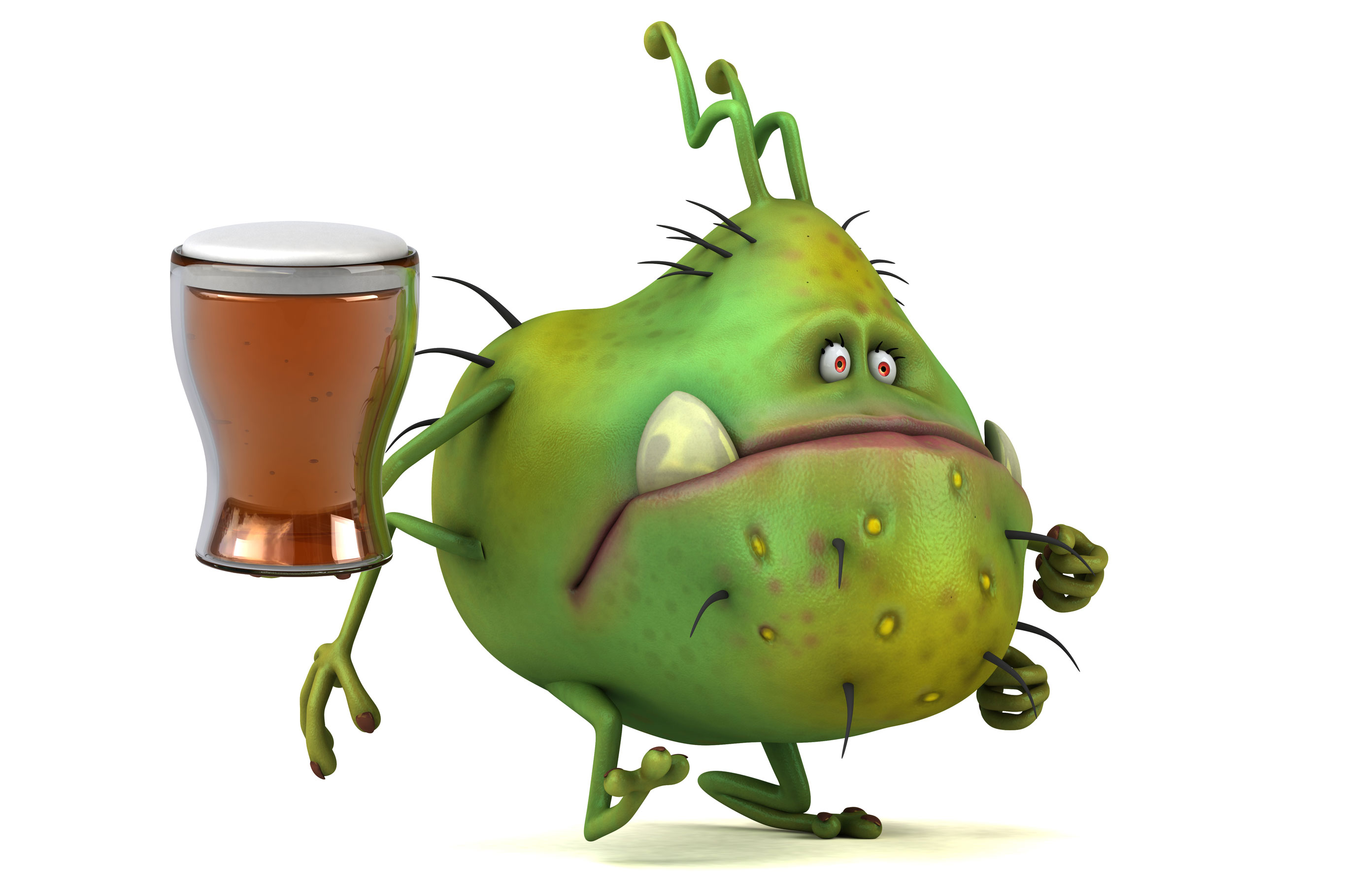 Alcohol-producing gut bacteria can cause liver disease