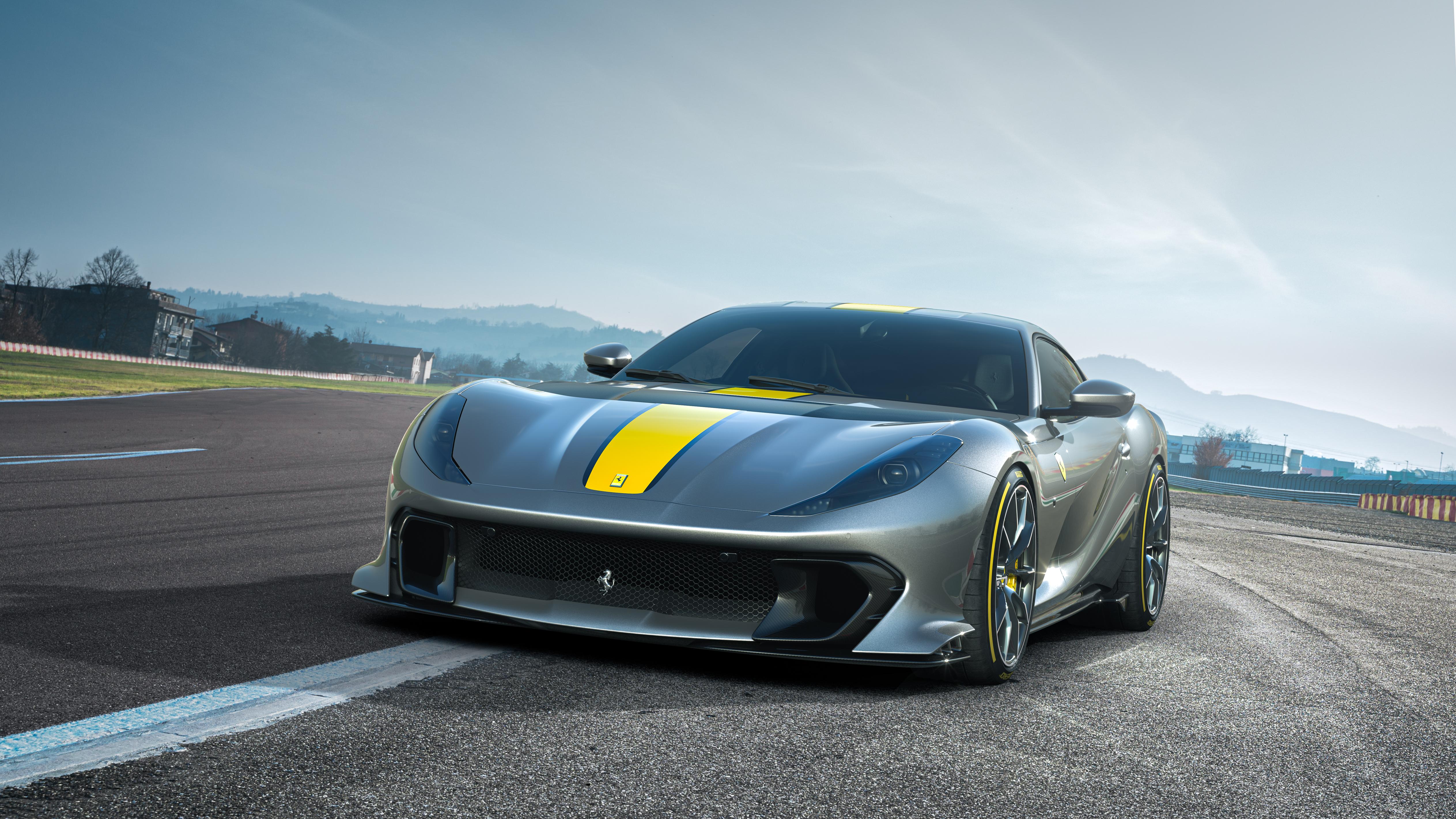 Ferrari's 812 Competizione is powered by a 6.5-liter V12