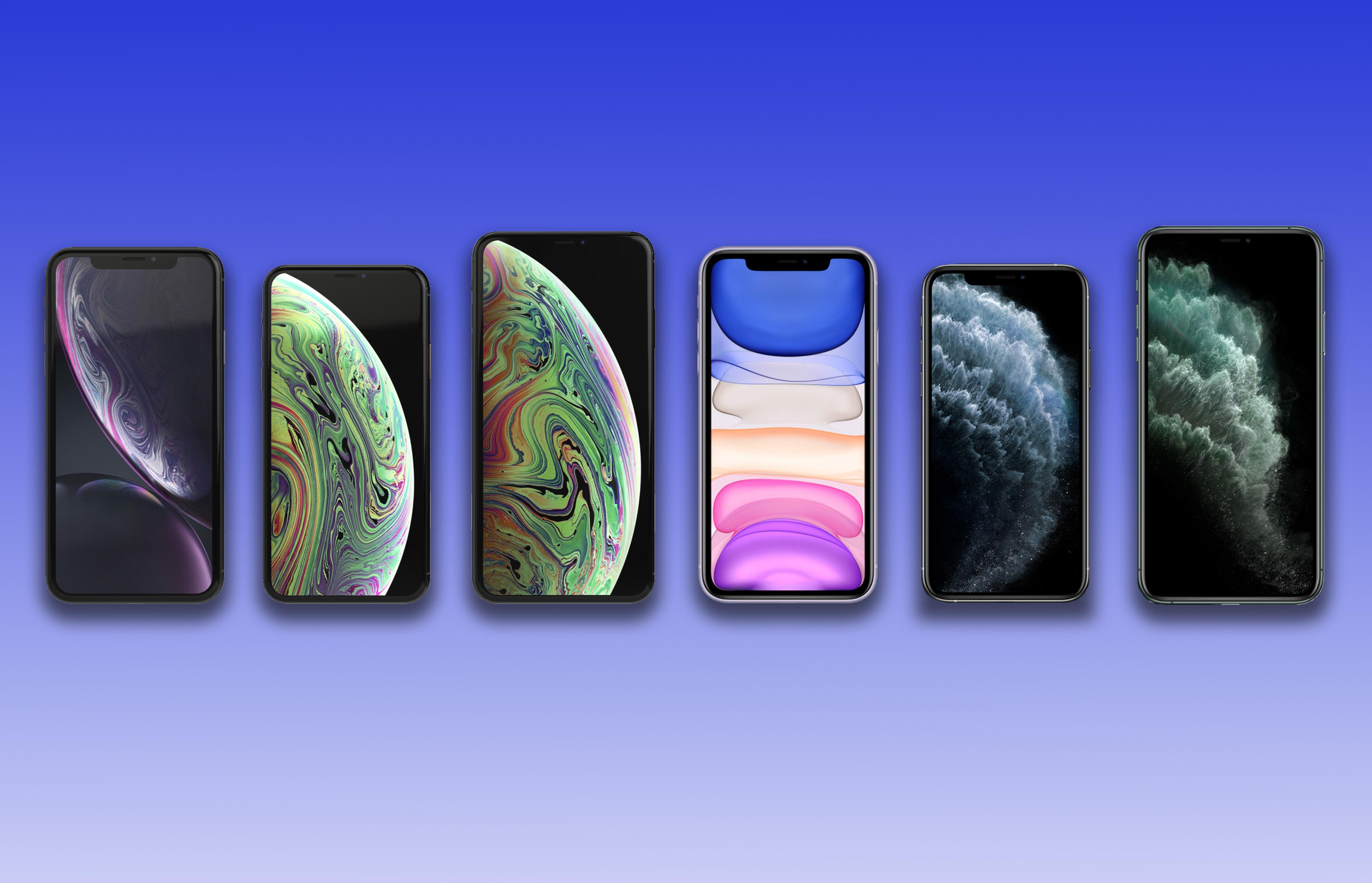 Comparing iPhone 11/Pro/Pro Max vs  iPhone XR/XS/XS Max
