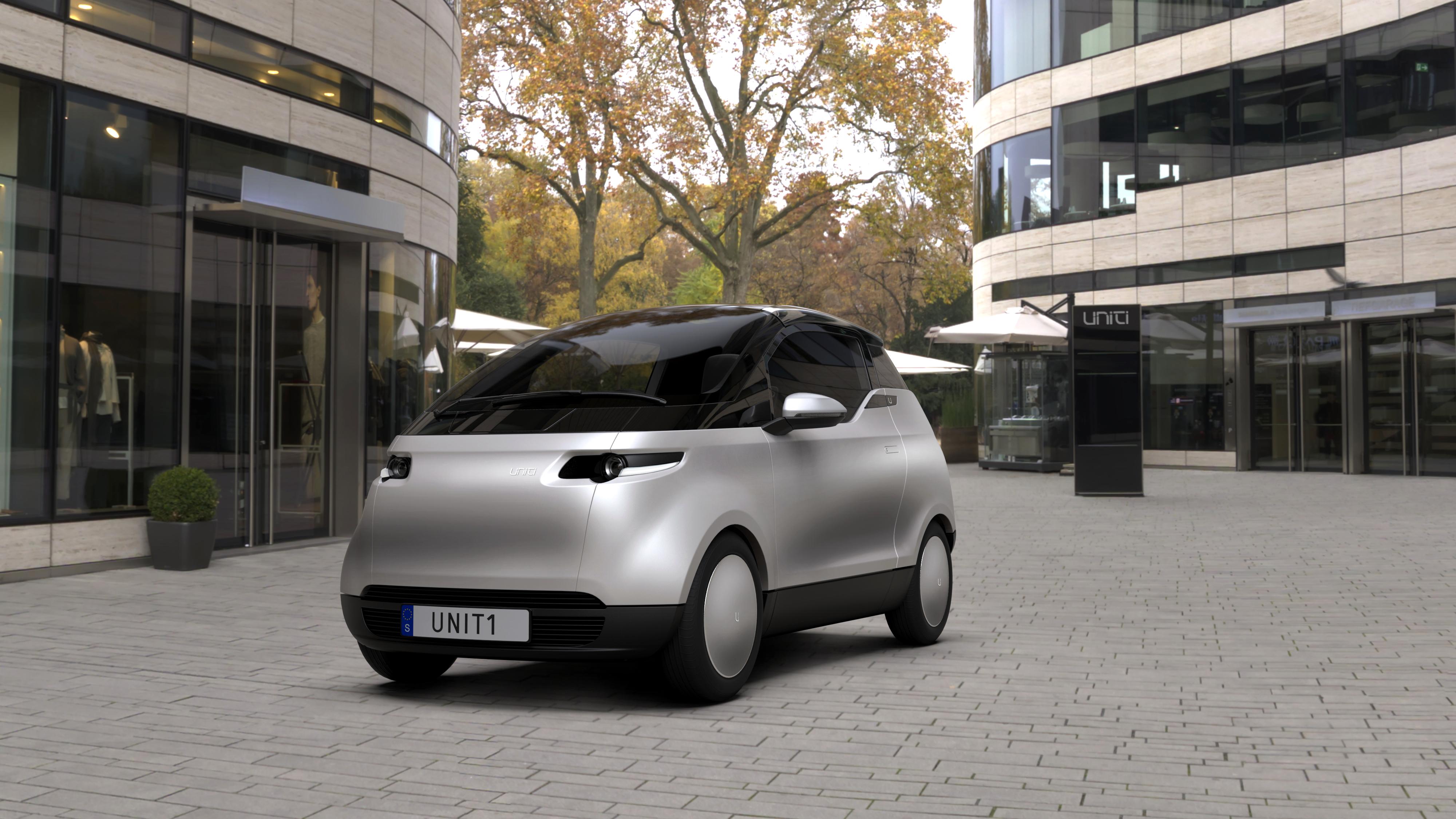 Sweden's Uniti electric city car gets a £15K price tag