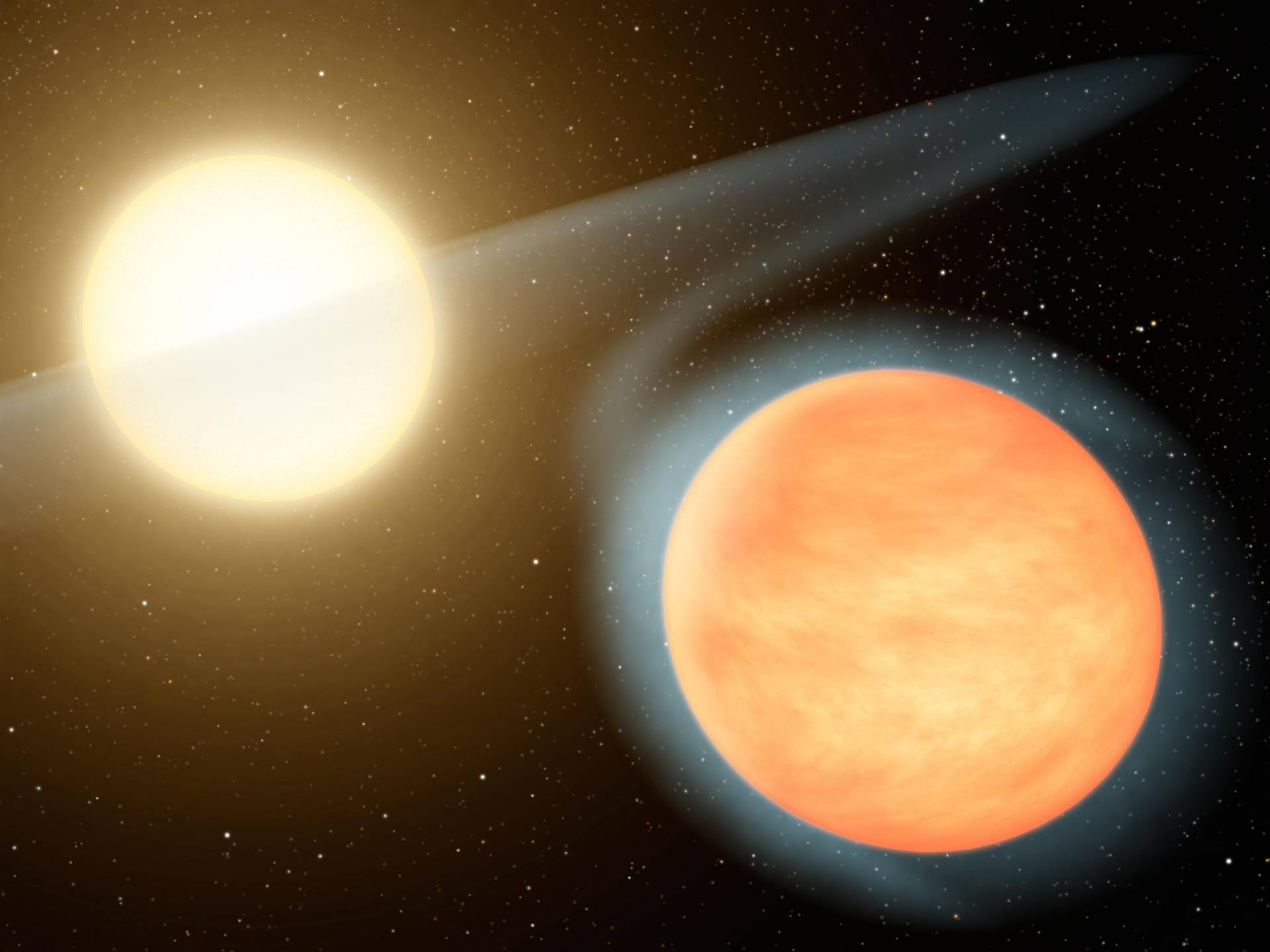 Exoplanet given three-million-year death sentence