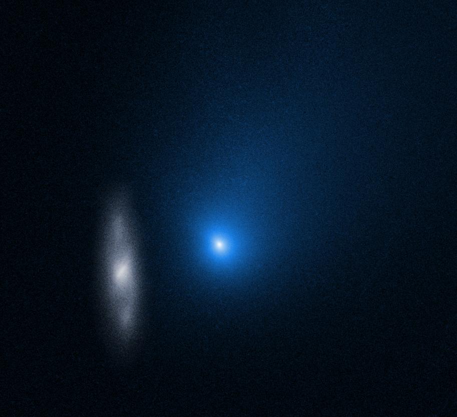 Comet on return journey to interstellar space after solar slingshot