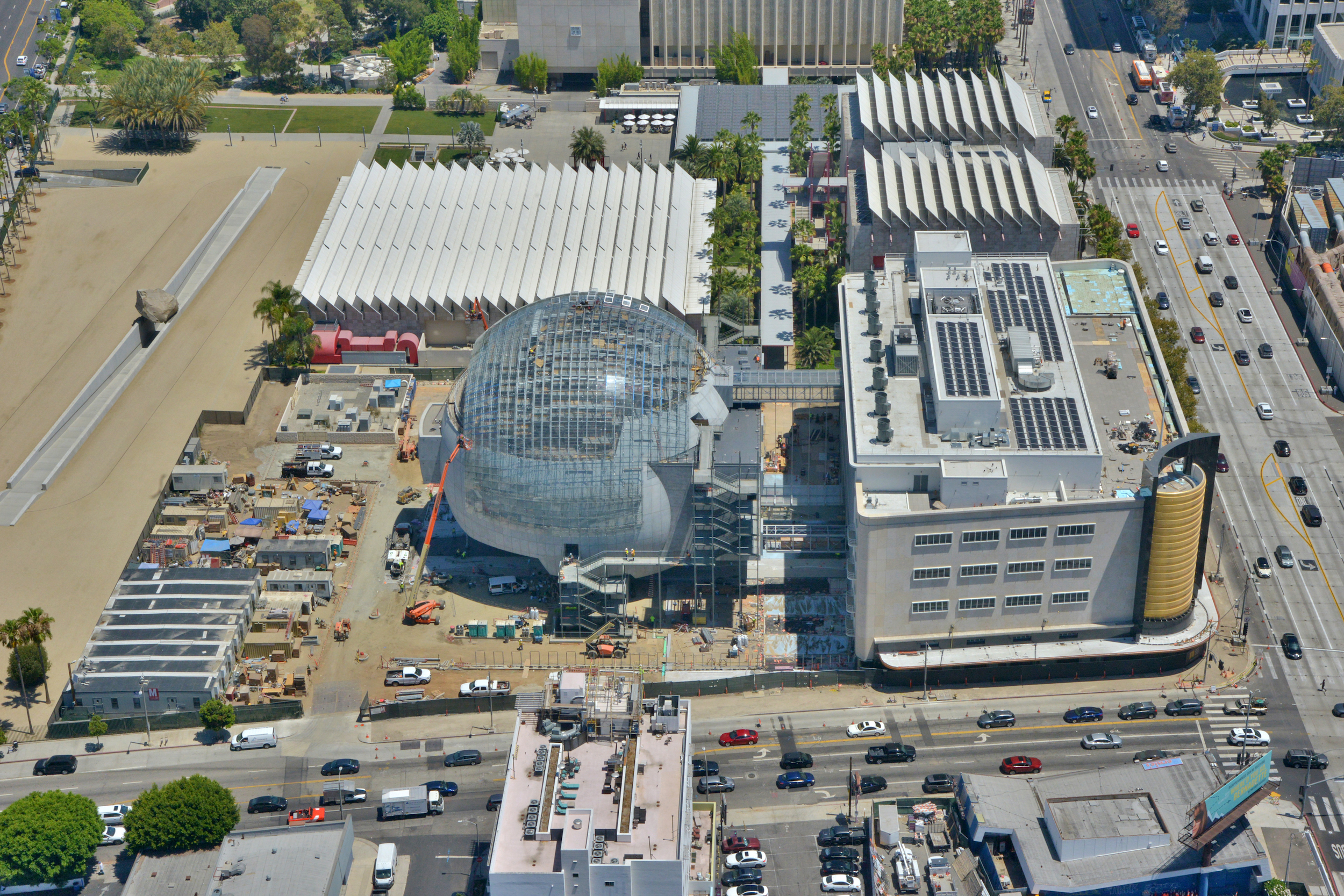 The Academy Museum of Motion Pictures is due to be completed in December, 2020