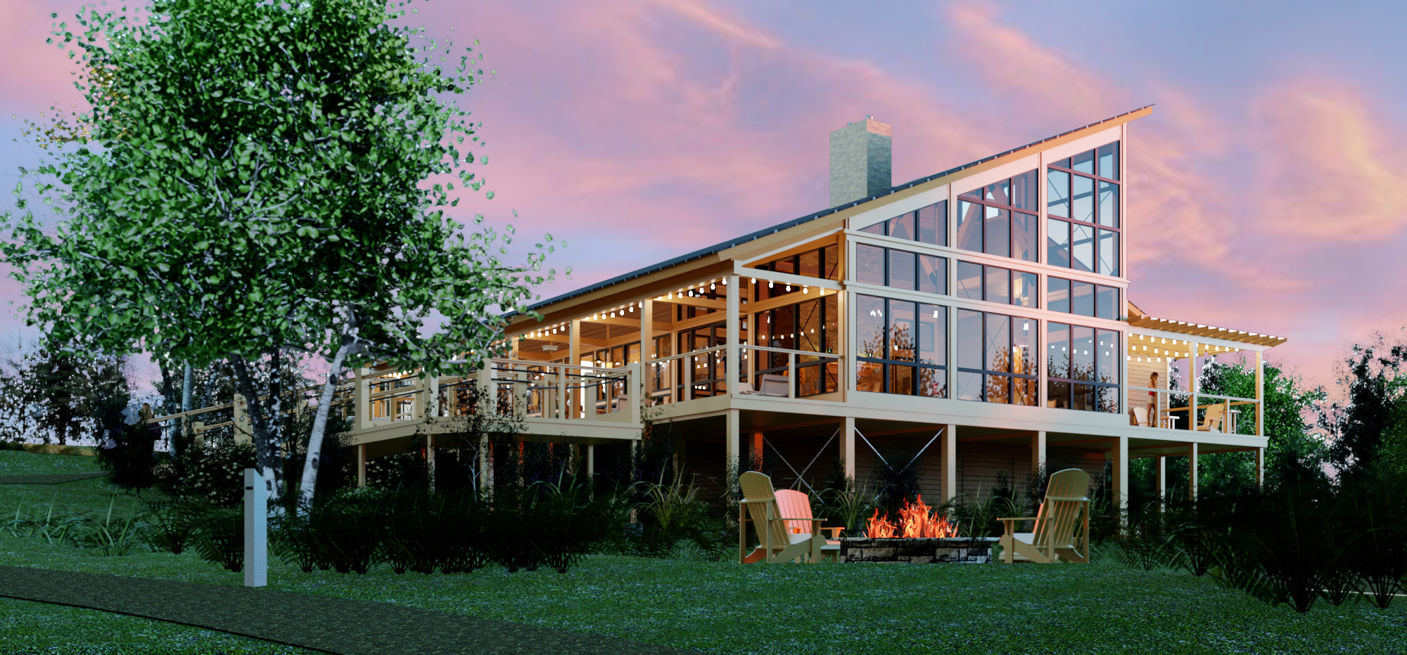 Luxury resort previews a much glampier future for KOA camping