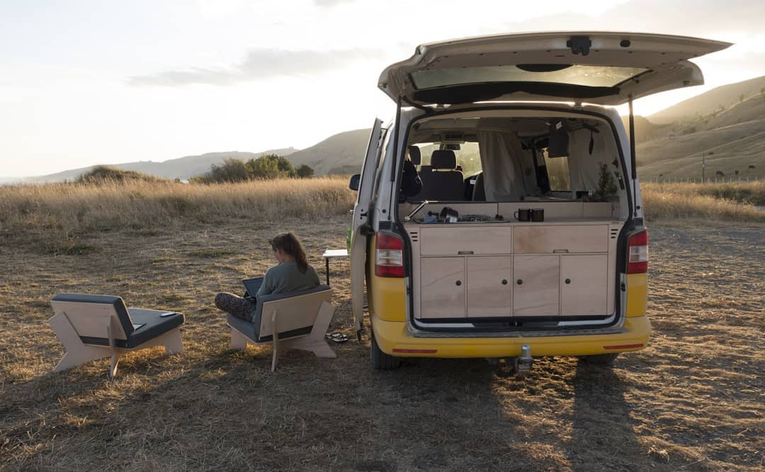 The Ventje camper van has indoor/outdoor flexibility like few other campers out there