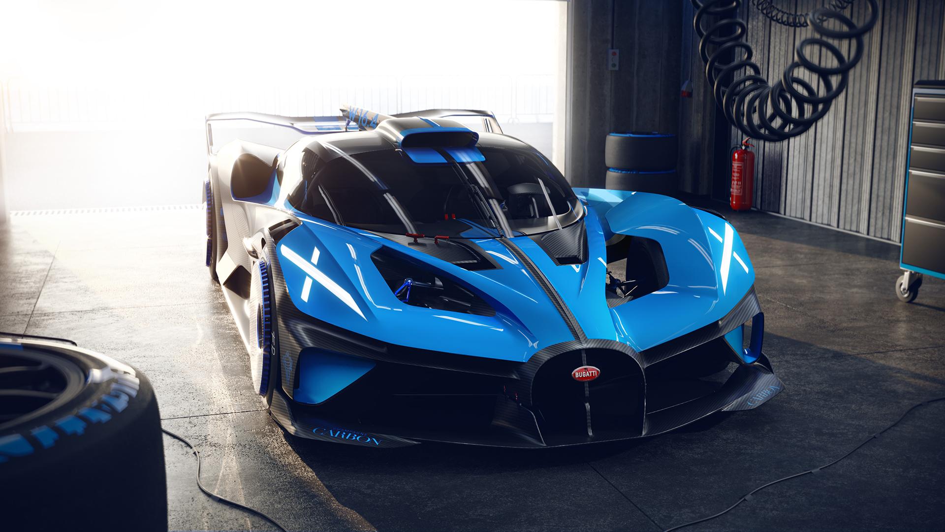 The track-focused Bugatti Bolide