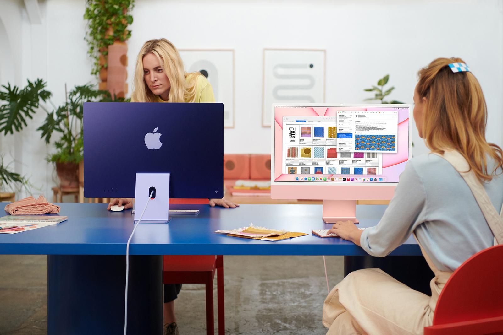 Colorful new iMacs led Apple's latest hardware refresh